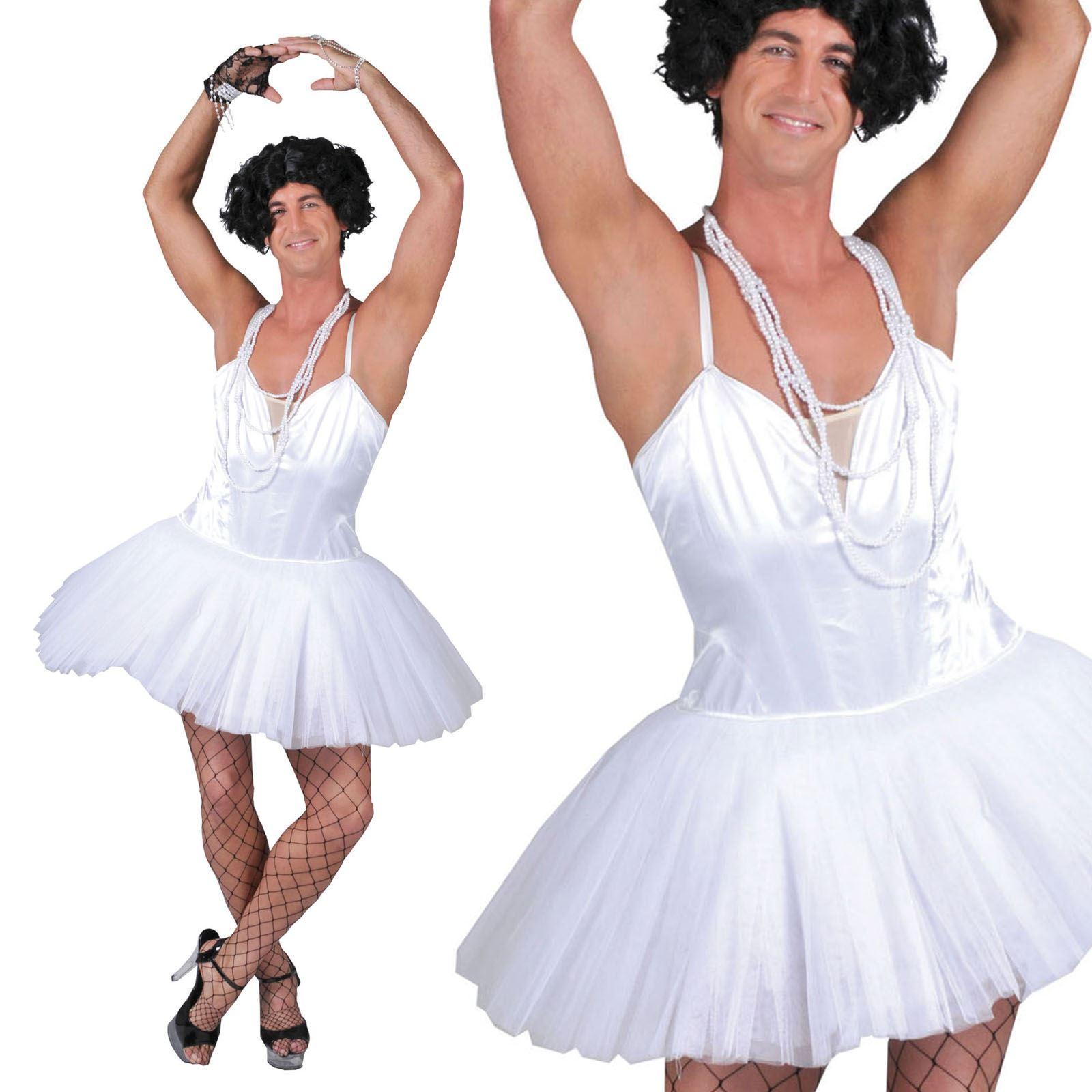 5bcf2e425 Mens Ballerina Dancer Dress Costume Stag Hen Do Party Transvestite ...