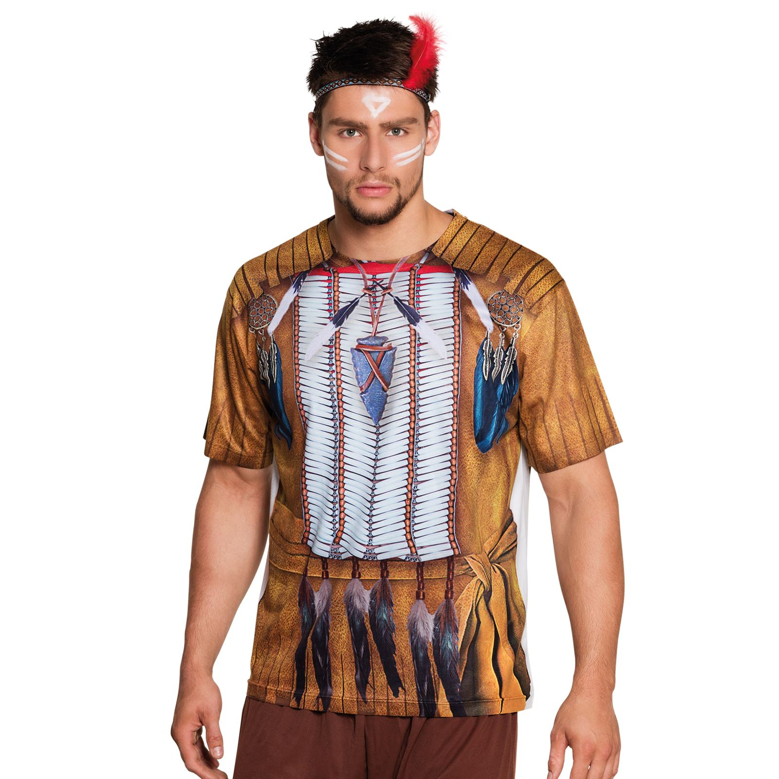 Photorealistic Red Indian Pocahontas Native American T ...
