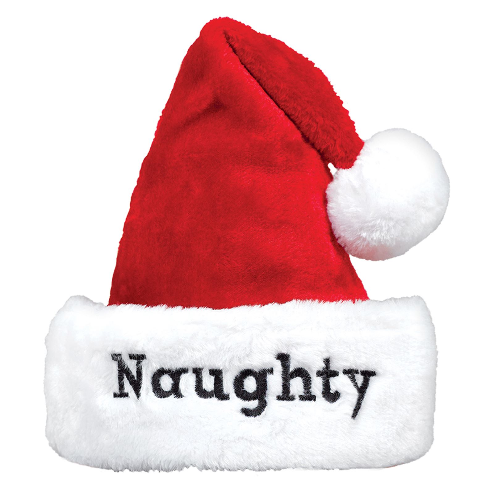2b5221a391 Details about 2x Premium Naughty Nice Father Christmas Hats Santa Festive  Party Fancy Dress UK