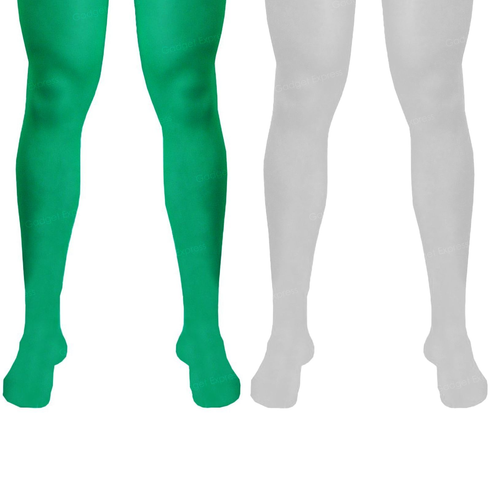 Green Elf Male Tights Adults Tights for Costume Fancy Dress