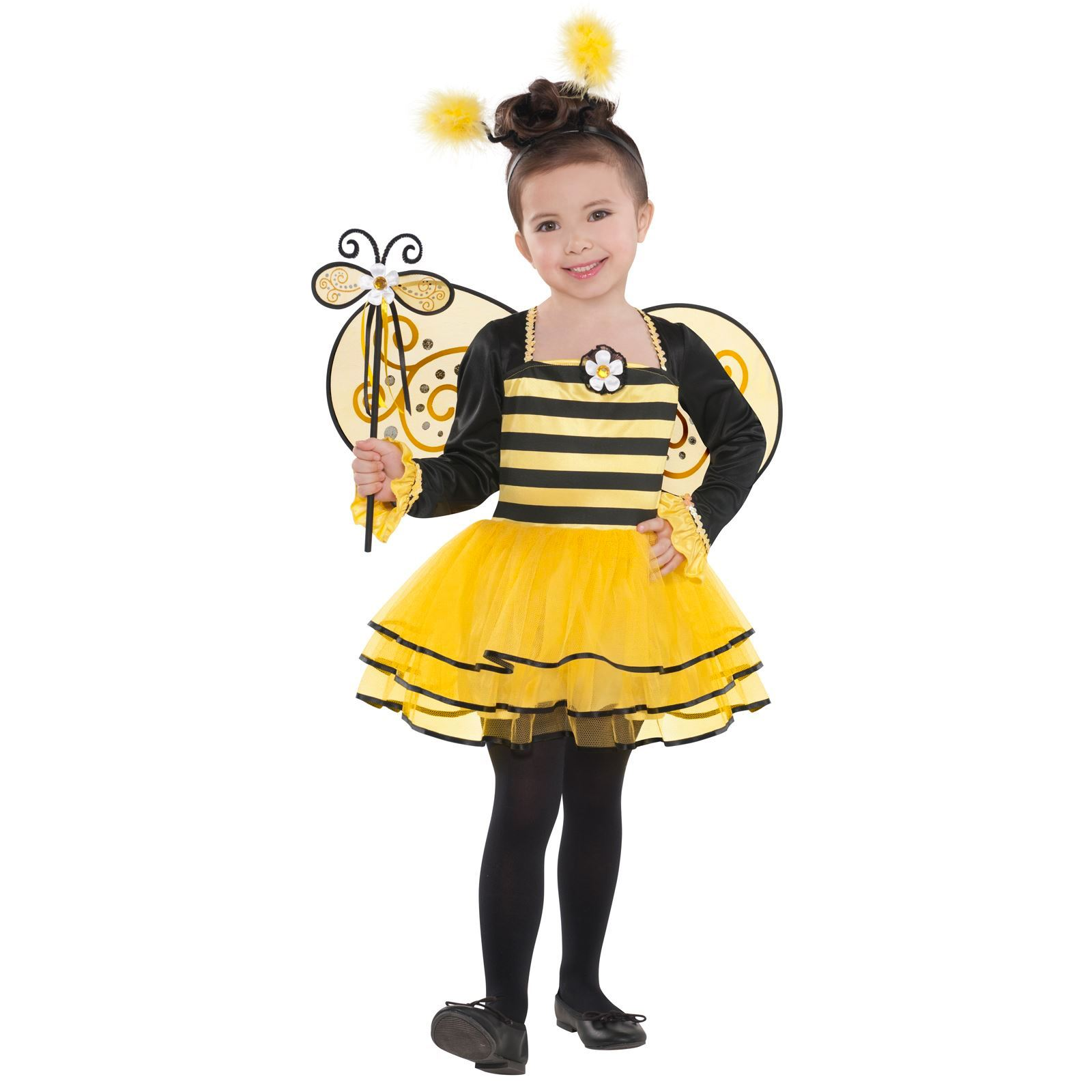 Bumblebee Costume For Little Girl