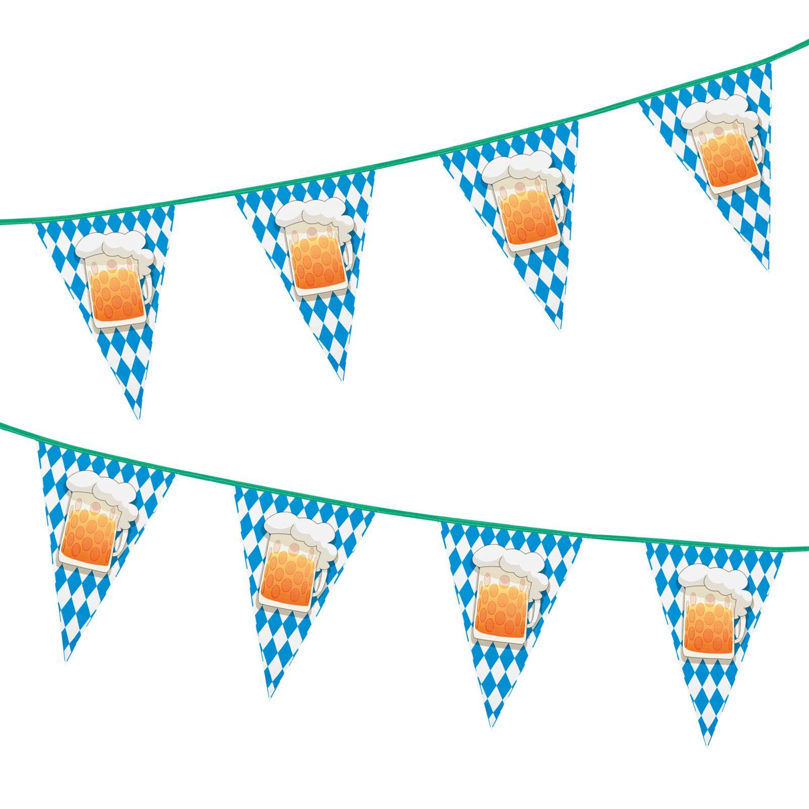 BAVARIAN CREST OKTOBERFEST FLAG BANNER German Beer Festival Party Decoration 332