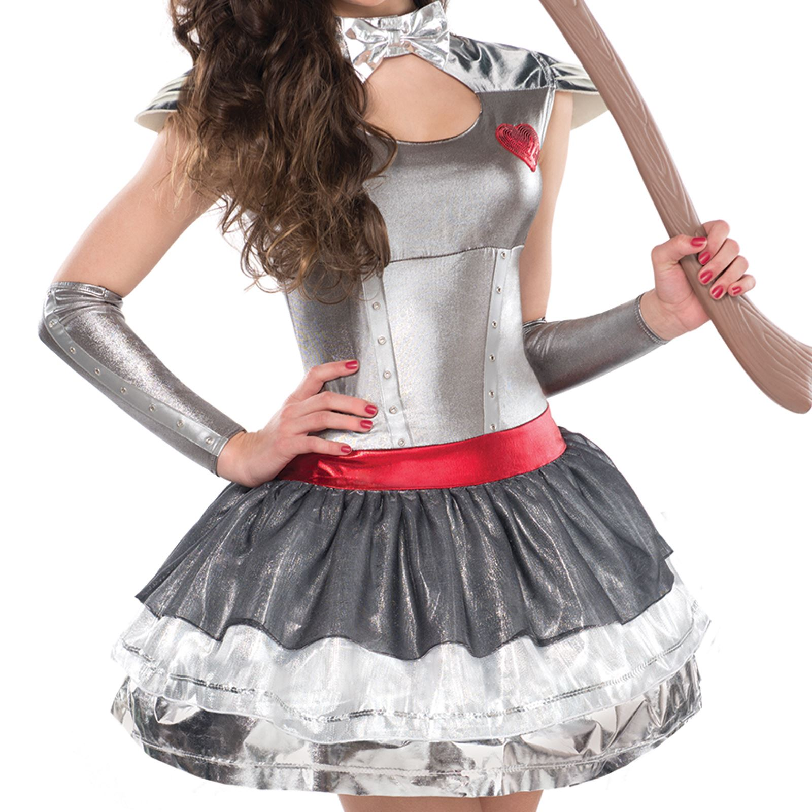 Teen Tin Heartthrob Lady Wizard Fancy Dress Of Oz Girl Party ...