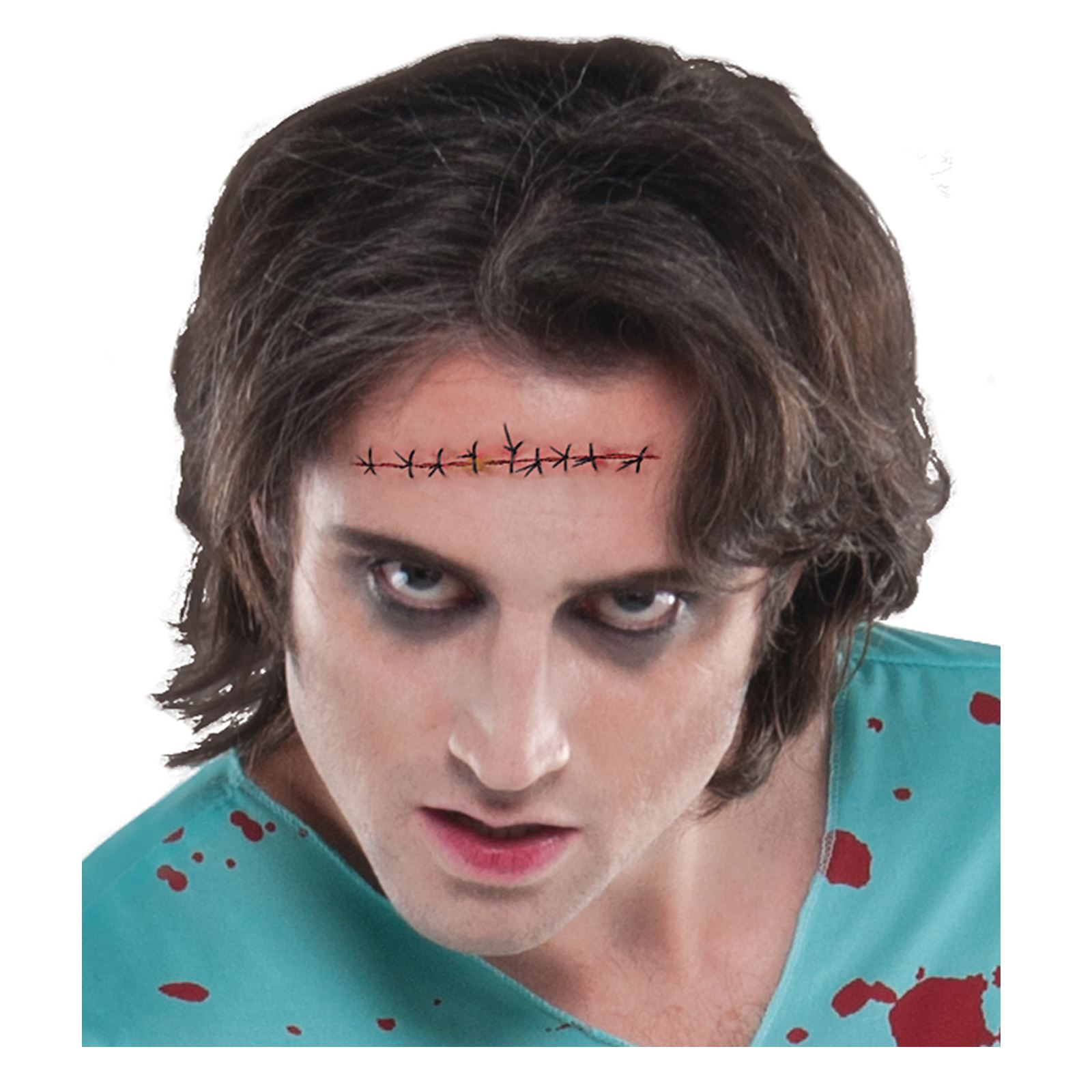 d52119c2a823a Halloween Sinister Surgery Zombie Stitches Wound SFX Accessory Gore ...
