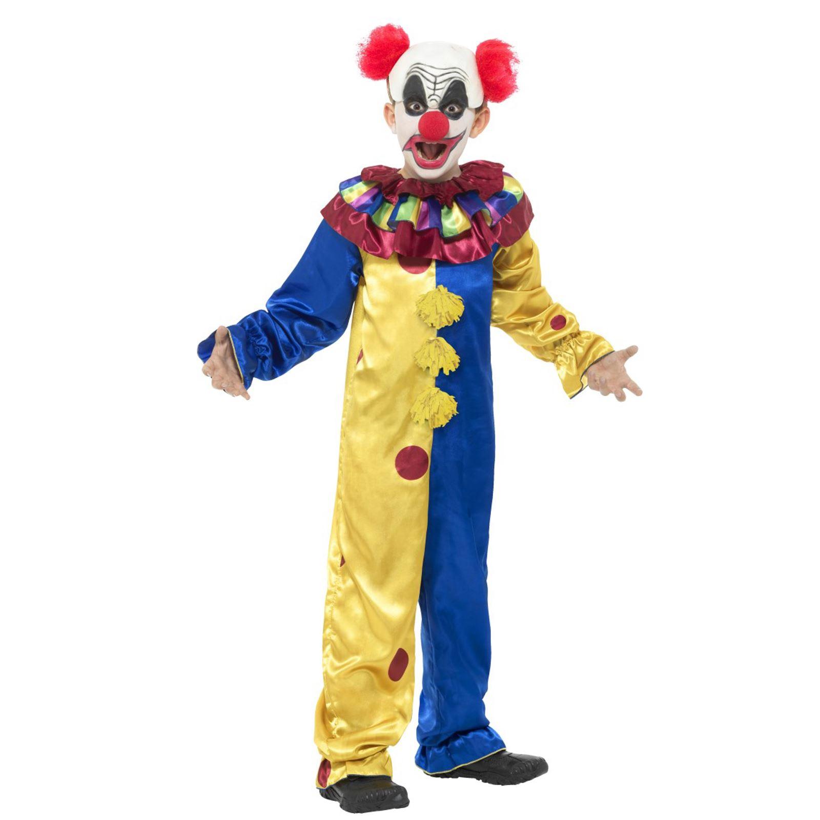 kids boys official goosebumps childs horror clown pumpkin doll