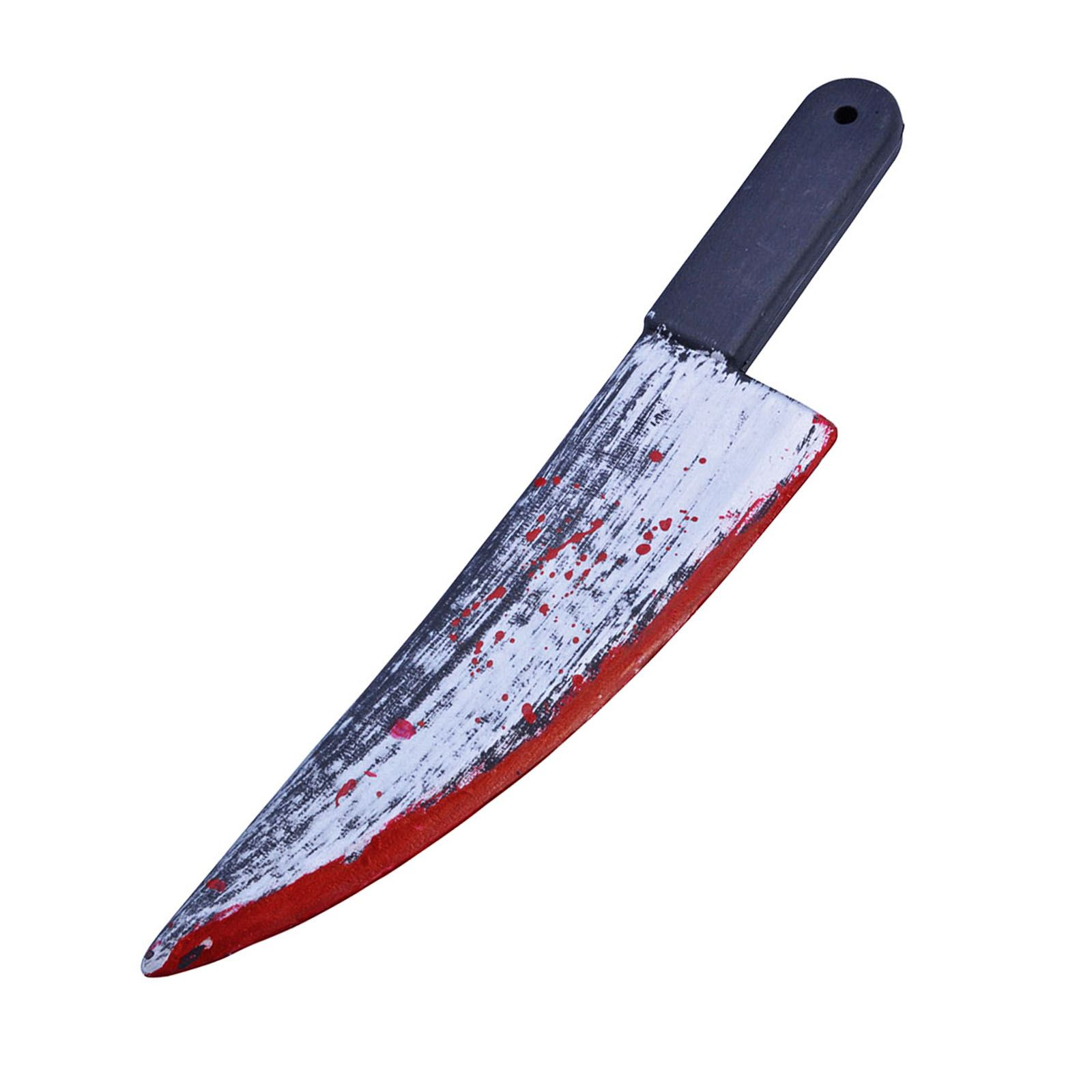 49cm Long Cleaver Knife Jason Blood Fancy Dress Costume ...