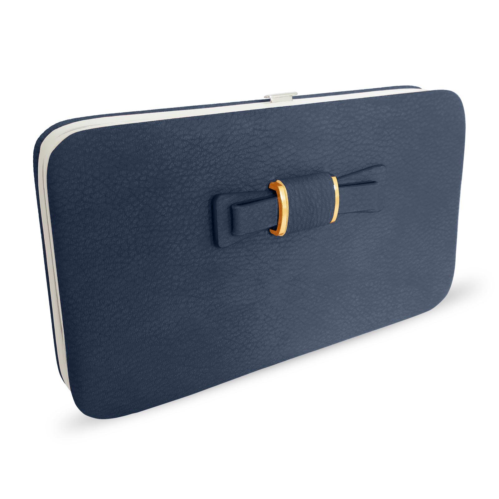Ladies-Fashion-Long-Wallet-Purse-Card-Phone-Holder-Clutch-Button-Handbag-Case