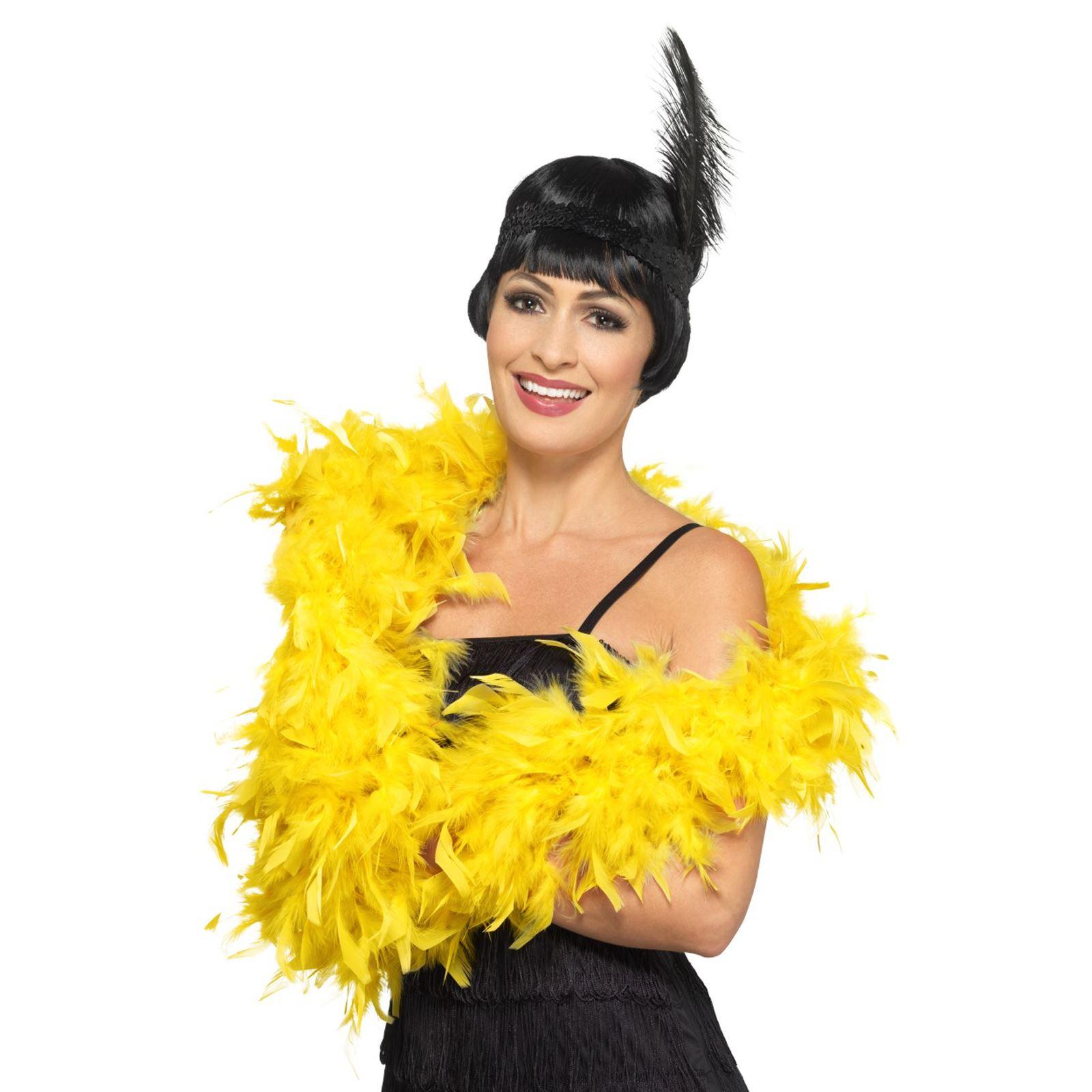 180cm Deluxe Feather Boa 20s Gatsby Flapper Burlesque Fancy Dress Hen Accessory