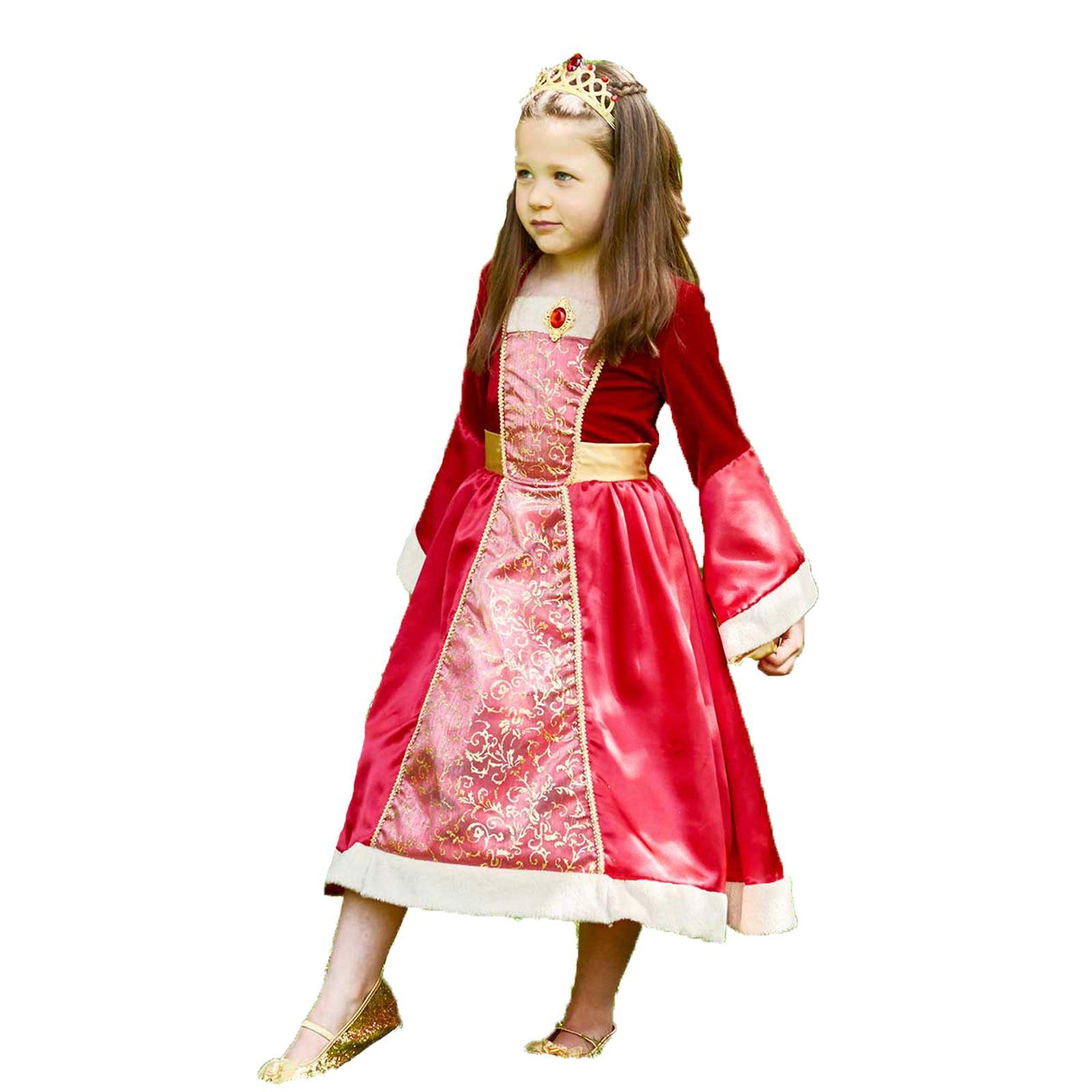 Infantil Real Princesa Medieval Reina Histórico Disfraz de personaje ...