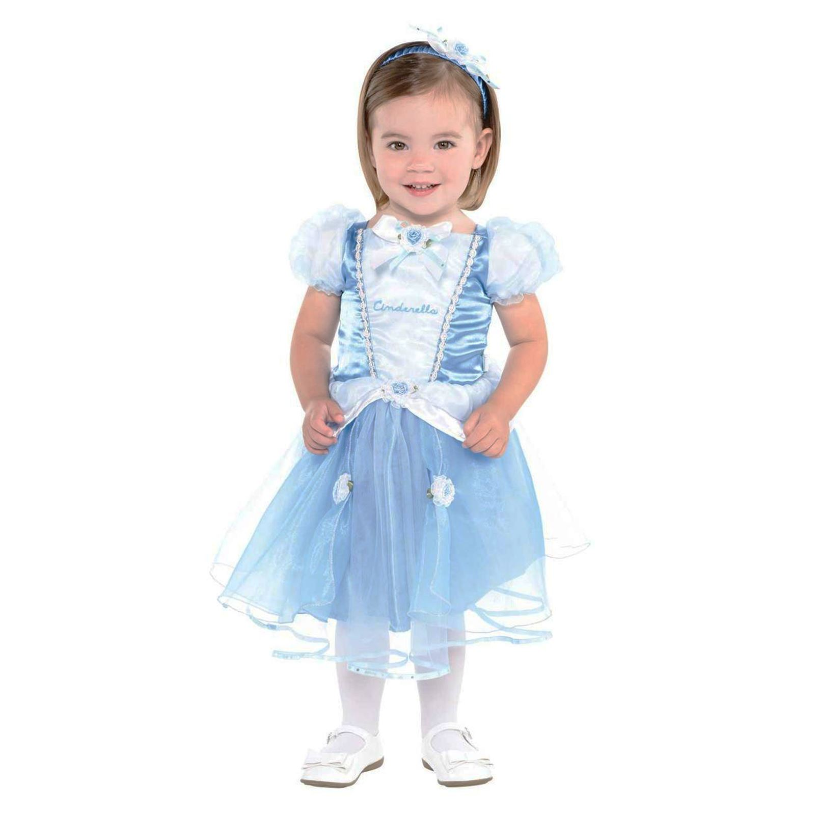 6ed5085703ef Disney Princesses Blue Cinderella Gown Dress Baby Fancy Dress ...