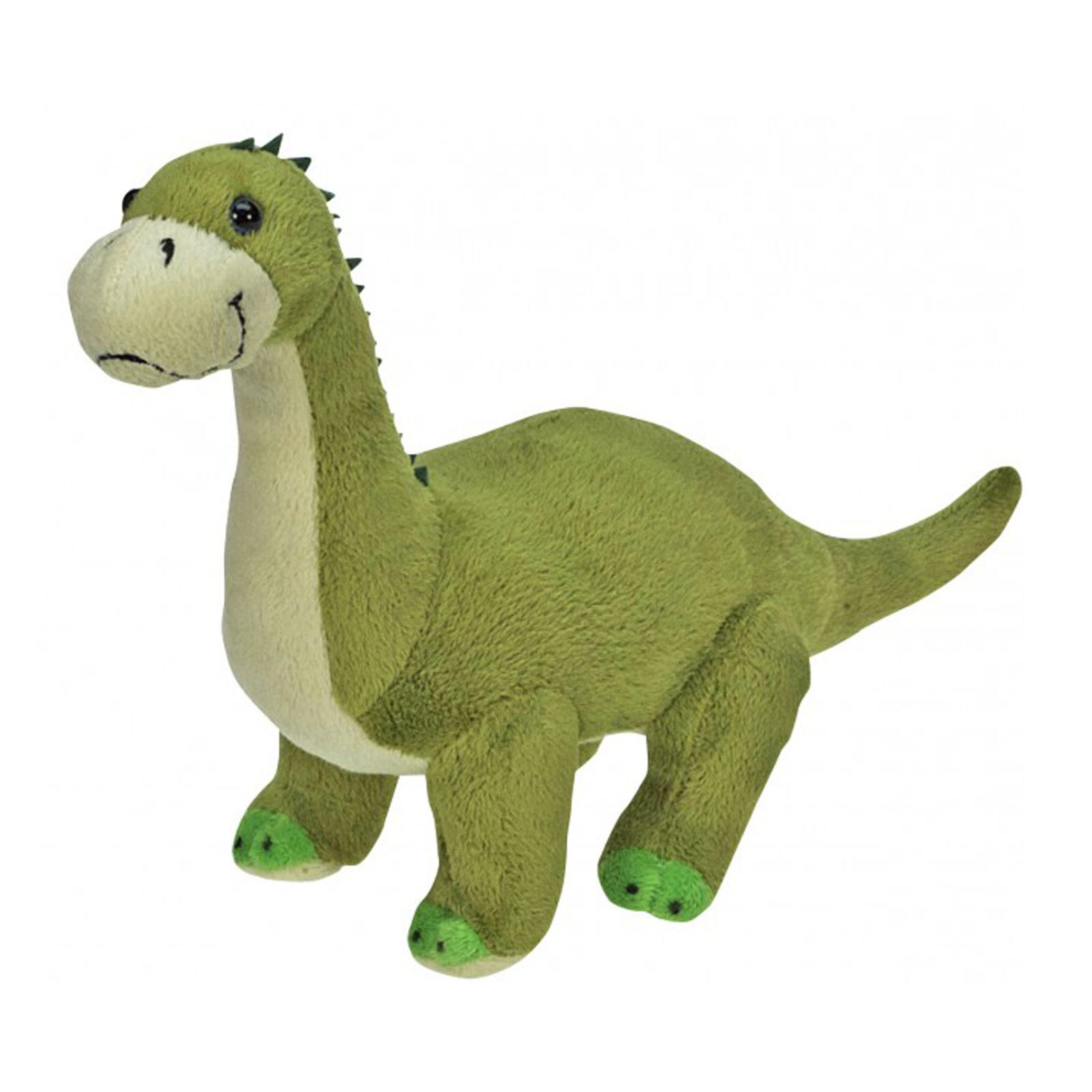 Plush Green Brontosaurus Good Cuddly Soft Toy Dinosaur Stuffed Animal Kids Gift  Ebay