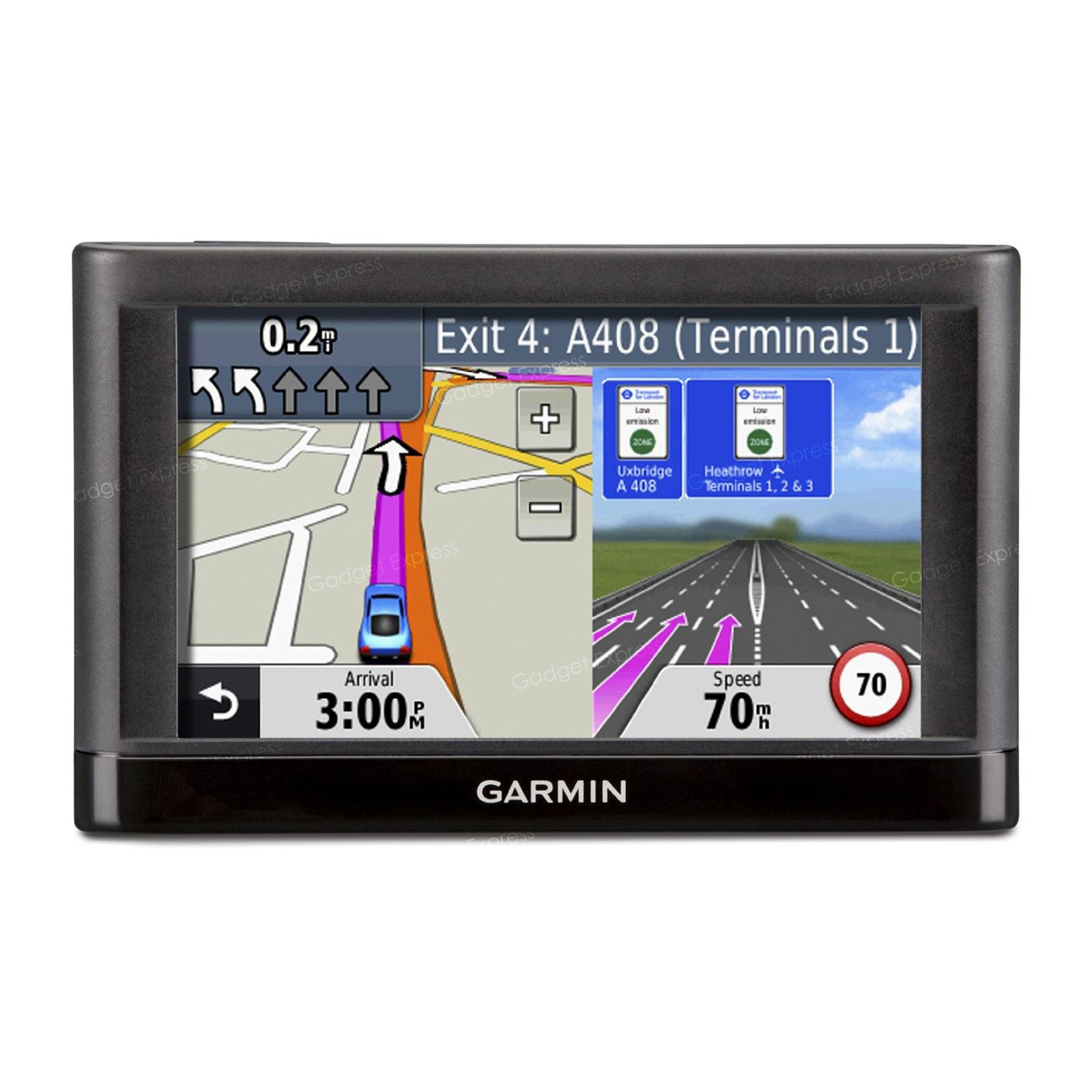 garmin nuvi 42 satellite navigation system satnav gps uk. Black Bedroom Furniture Sets. Home Design Ideas