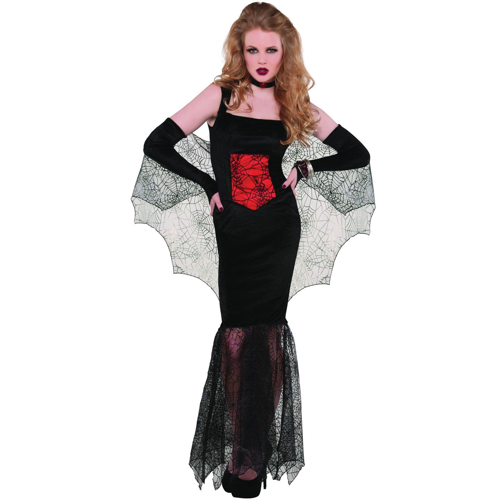 Dracula Vampiro orrore party maschera Halloween fantasia Abito Outfit Accessorio