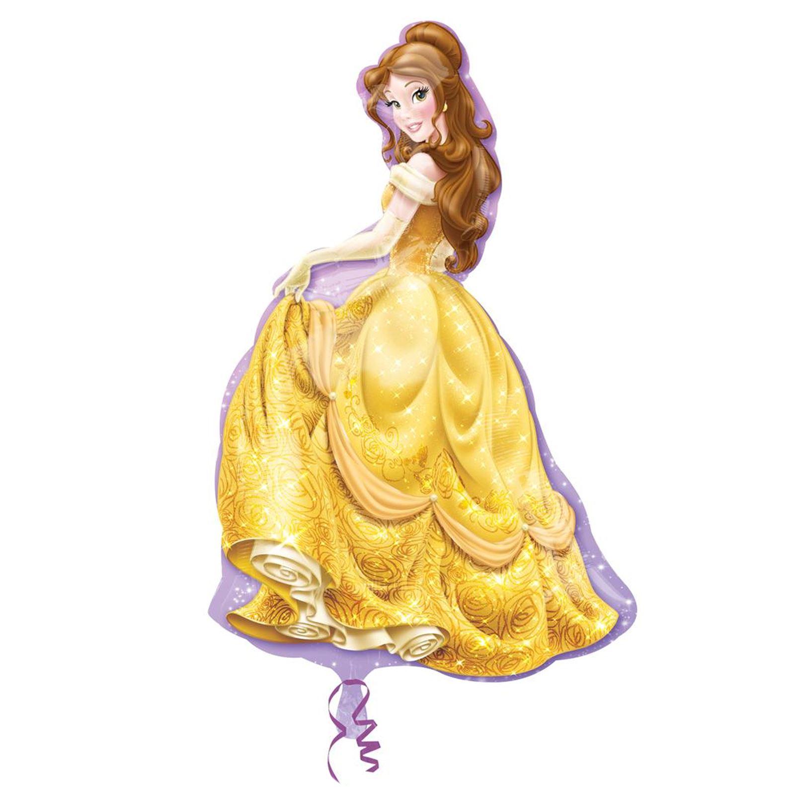 Officiel-disney-princesse-plat-ballon-geant-cadeau-filles-fete-d-039-anniversaire-decoration miniature 9