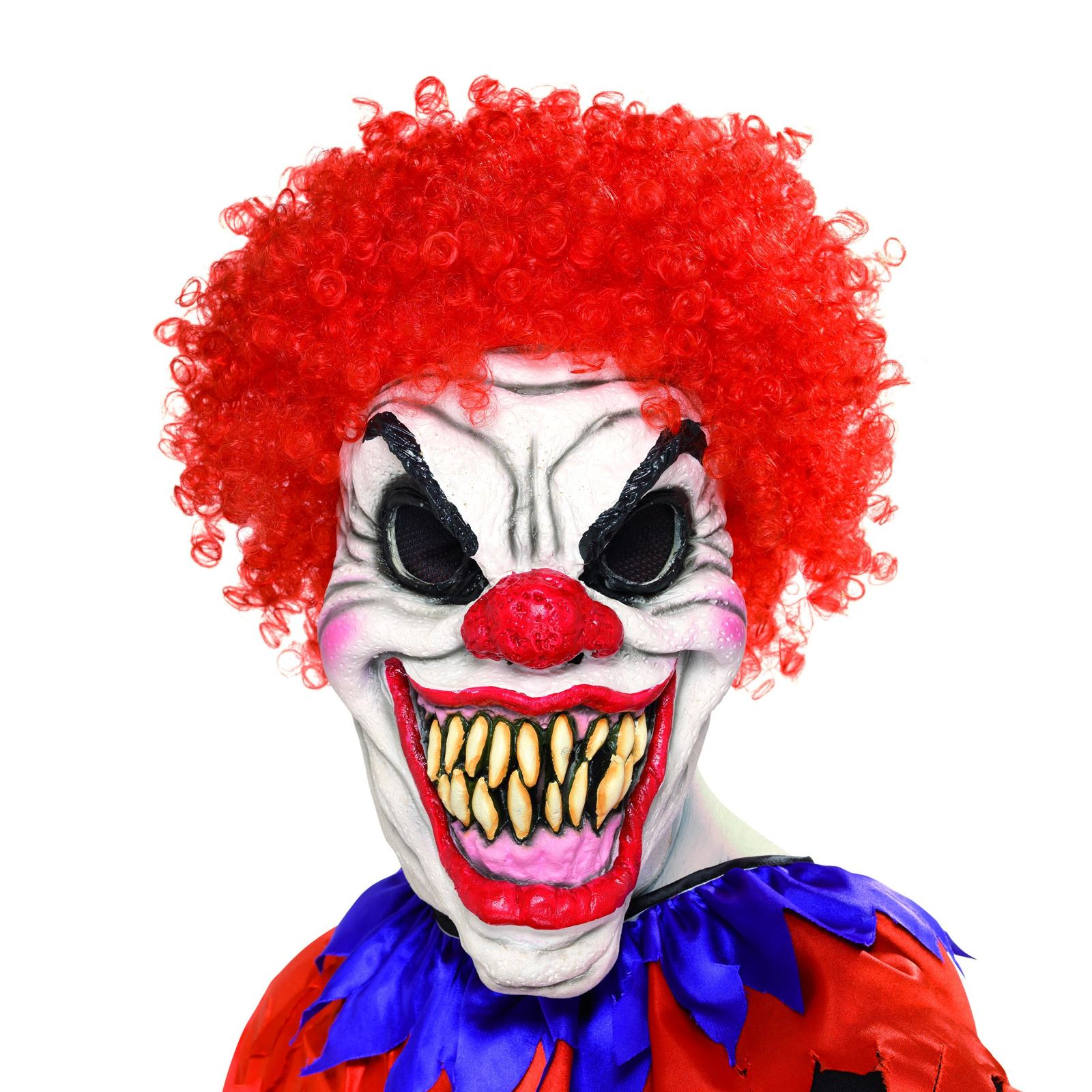 Maschera Mostro Maschera con i capelli lattice pieno Maschera Pauroso Carnevale Carnevale Halloween