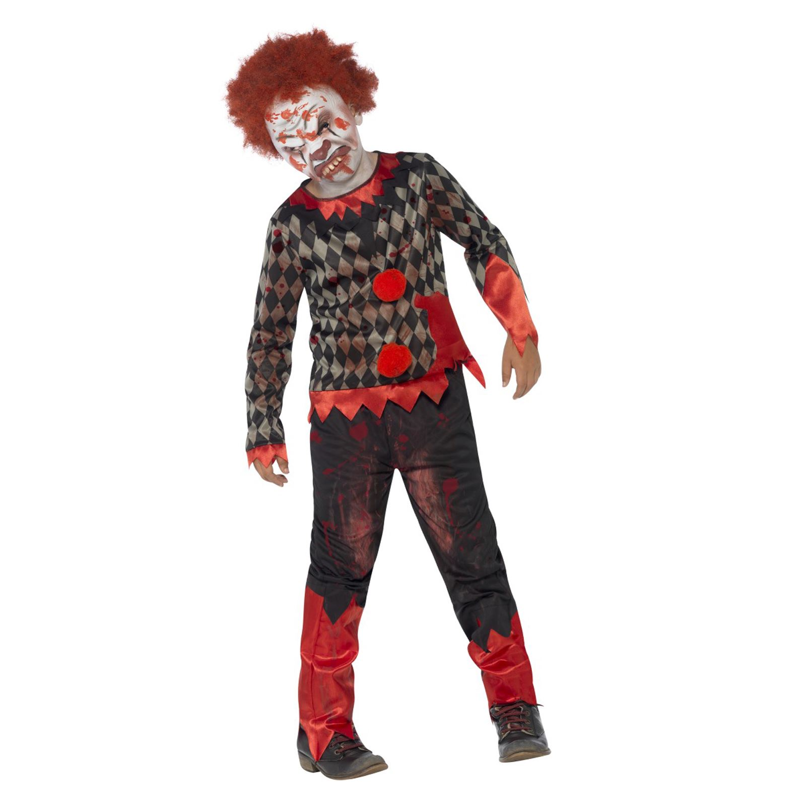 Halloween Zombie Childs FULL SET Fancy Dress Costume Boy KIDS Party FREE P/&P
