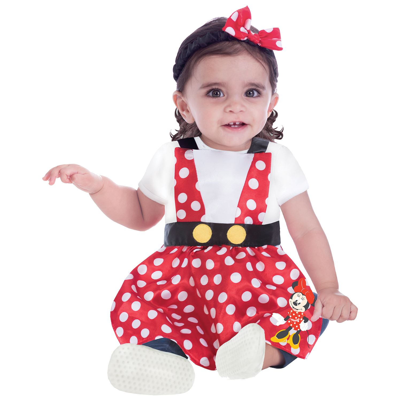 Minnie Baby Girls Dungarees