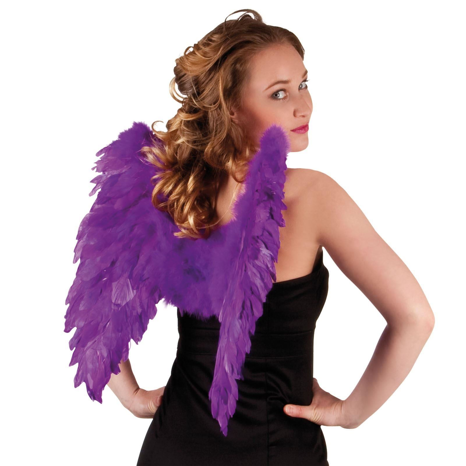 Angel Fairy Wings Fancy Dress Costume Hen Night Feather Outfit Adult Party Hen Ebay