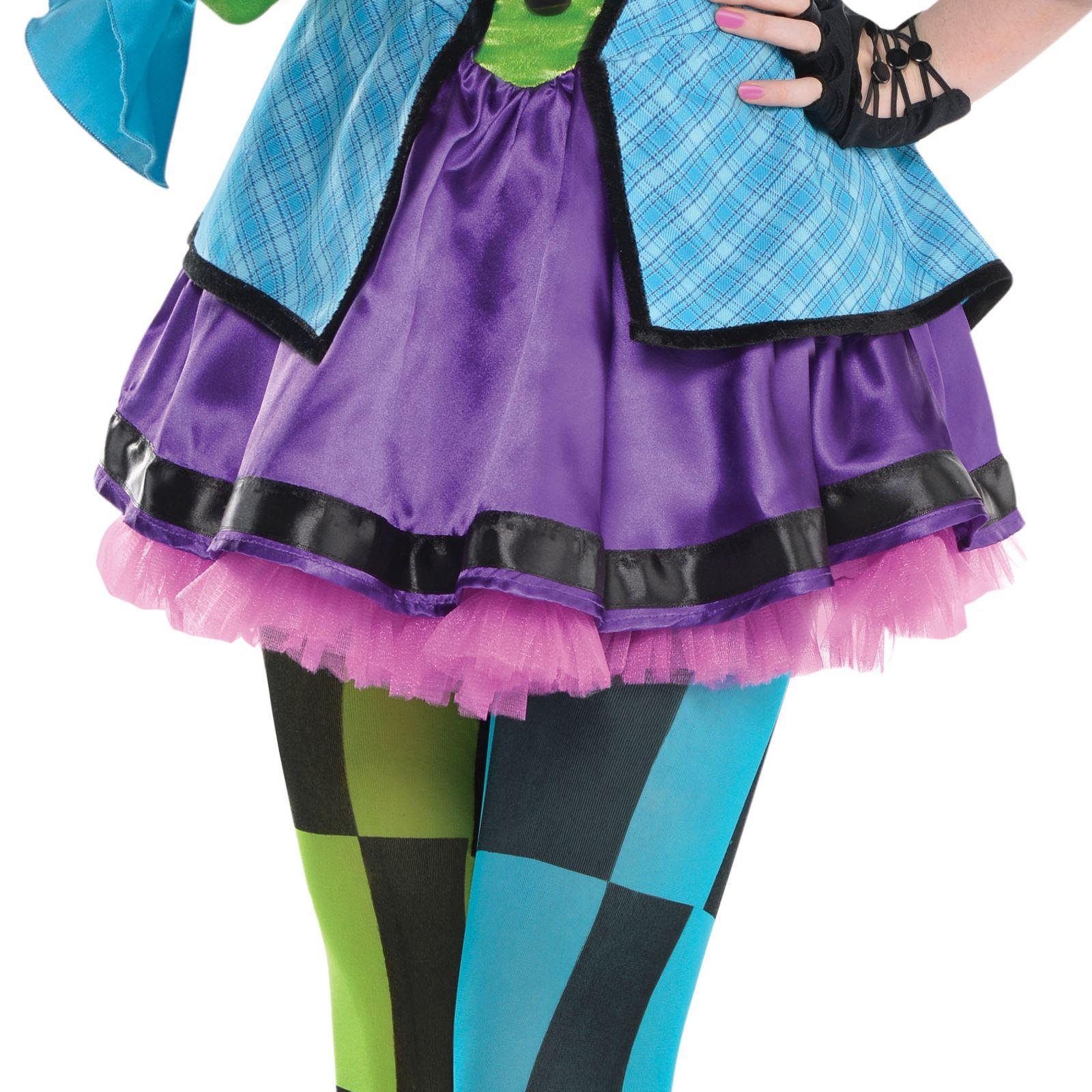 Teen Alice Wonderland Mad Hatter Circus Ringmaster Monster