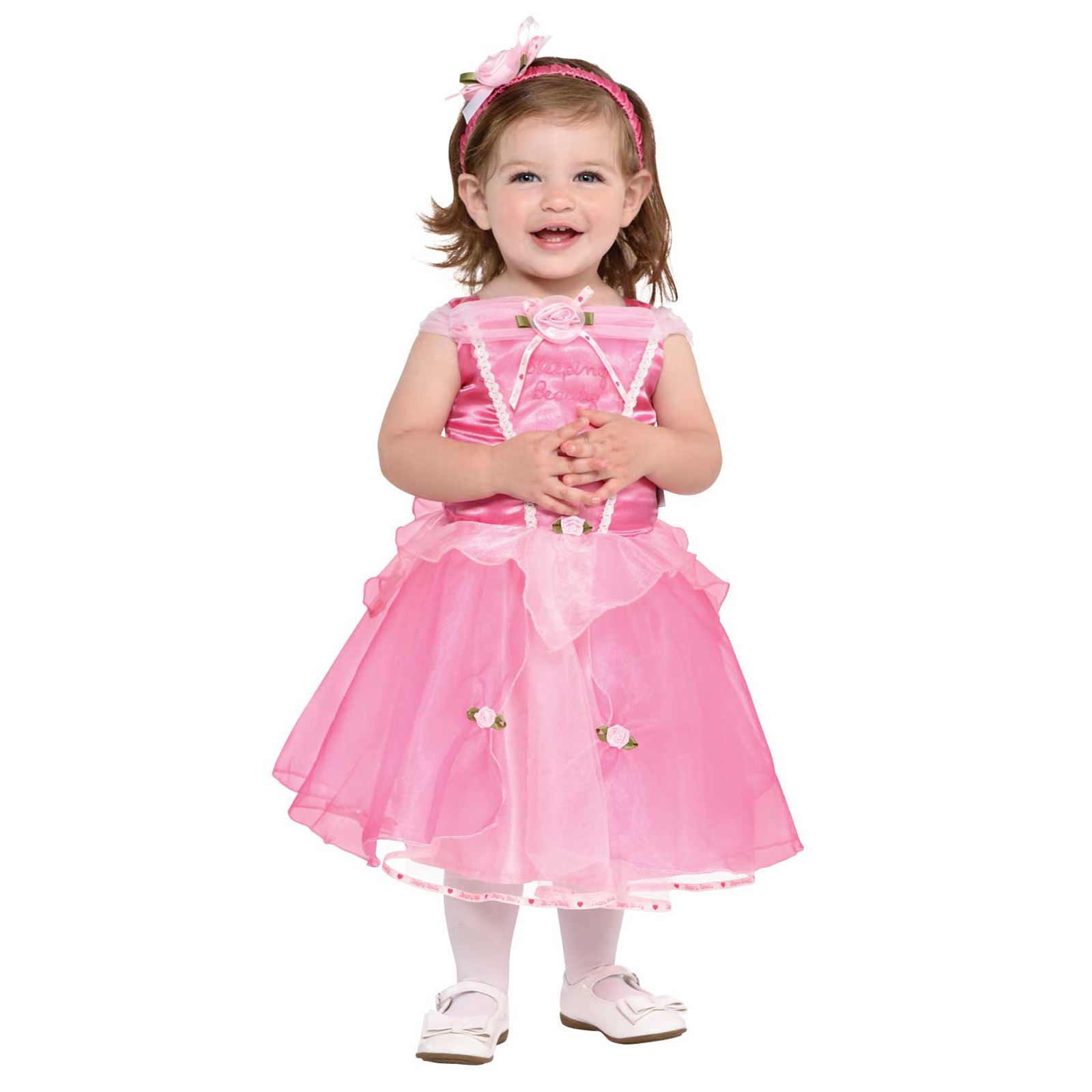Halloween Child Costume Princess Dressup Set Disney: Disney Princesses Pink Sleeping Beauty Gown Dress Gown