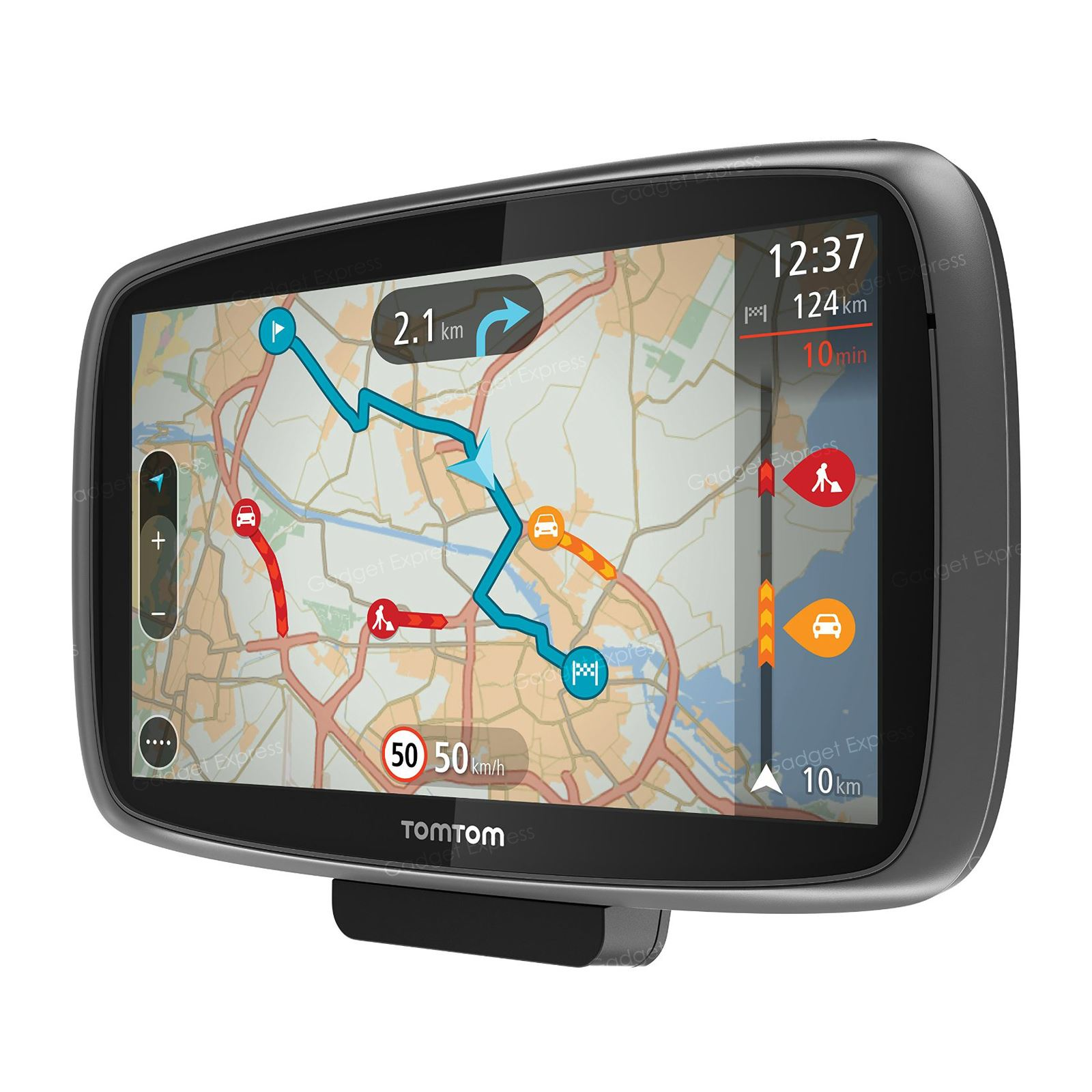 tomtom trucker 6000 gps truck sat nav free lifetime maps 1 year live traffic 636926076029 ebay. Black Bedroom Furniture Sets. Home Design Ideas