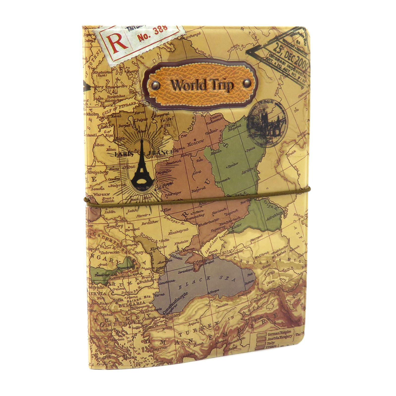 Passport holder wallet case travel world map id ticket receipt porta pasaporte billetera estuche de viaje organizador de gumiabroncs Images