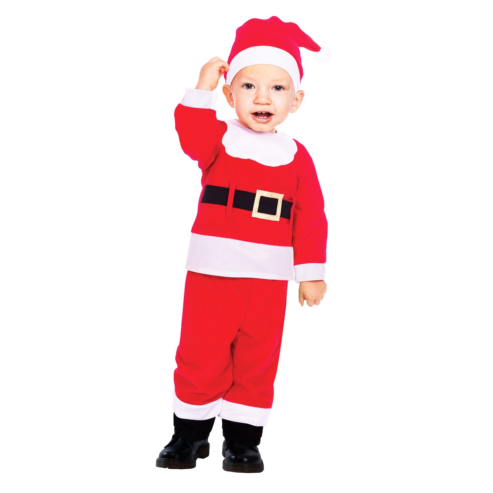 269d60725a59 Baby Toddler Santa Suit Christmas Party Fancy Dress Costume Boys ...