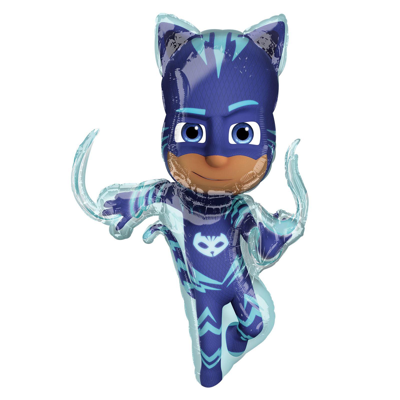 38 Quot Giant Pj Masks Catboy Gekko Owlette Foil Helium