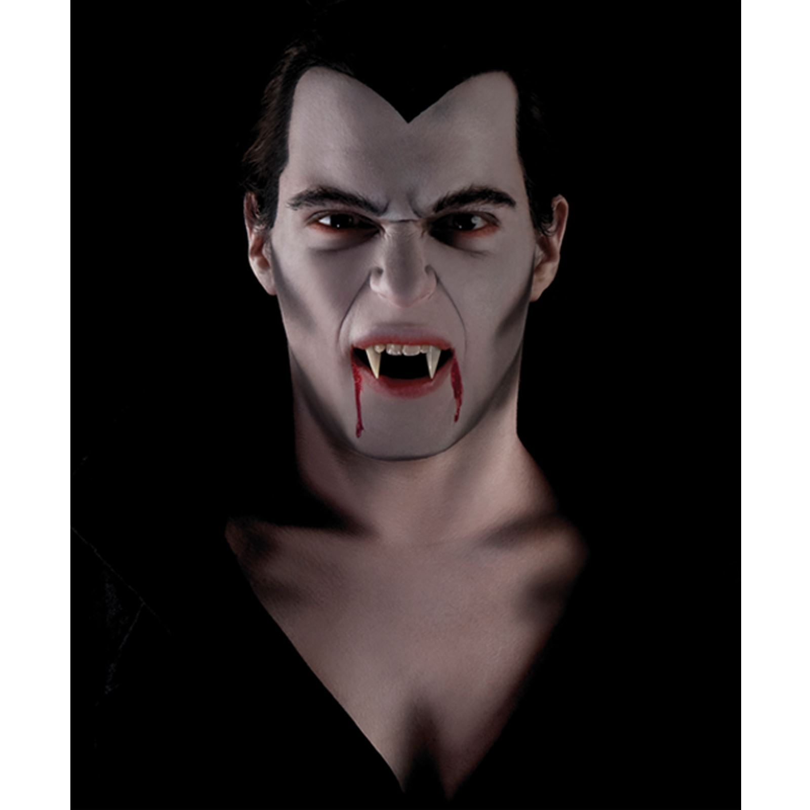 maquillage vampire visage