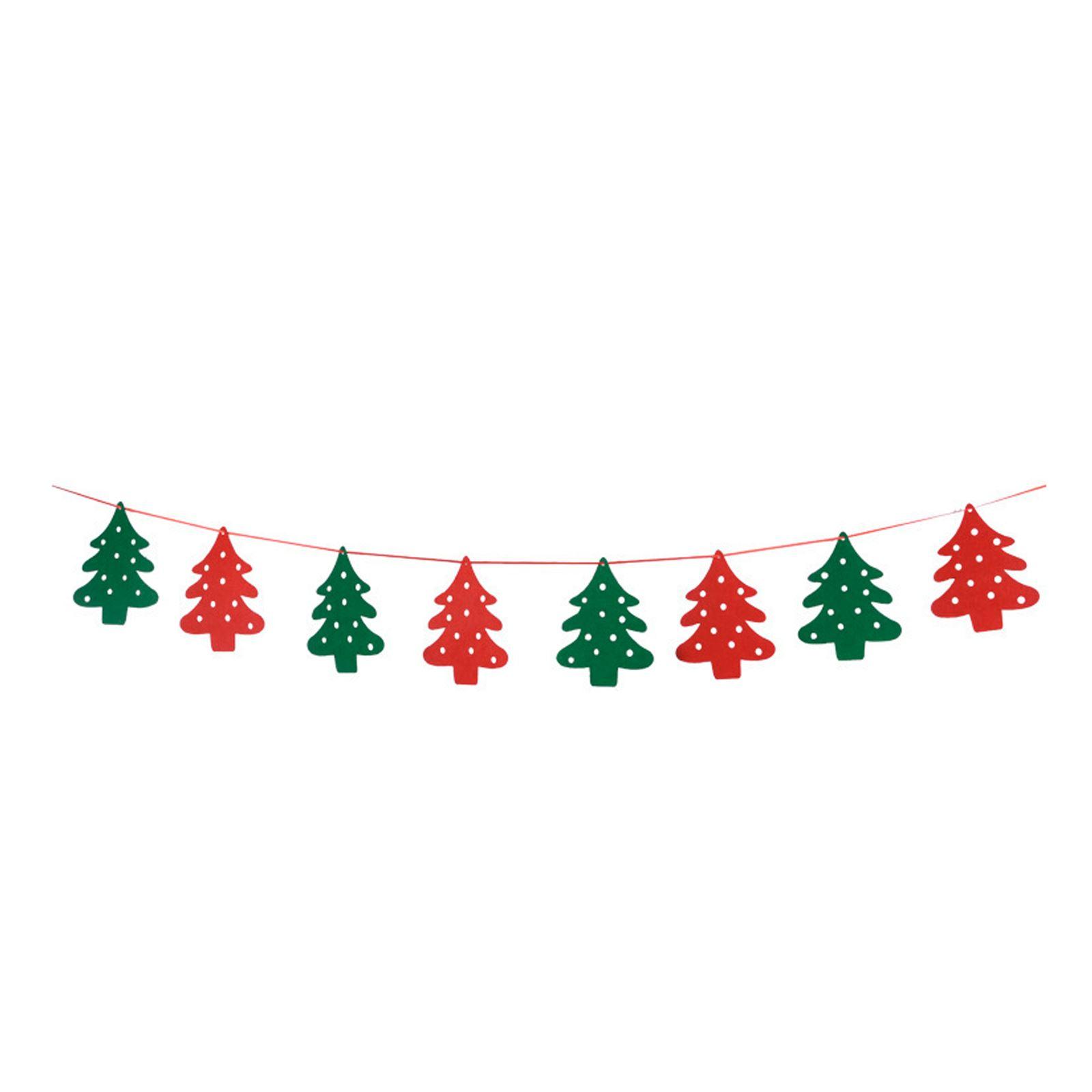 Snowflake Reindeer Nordic Santa Gingerbread MERRY CHRISTMAS handmade bunting