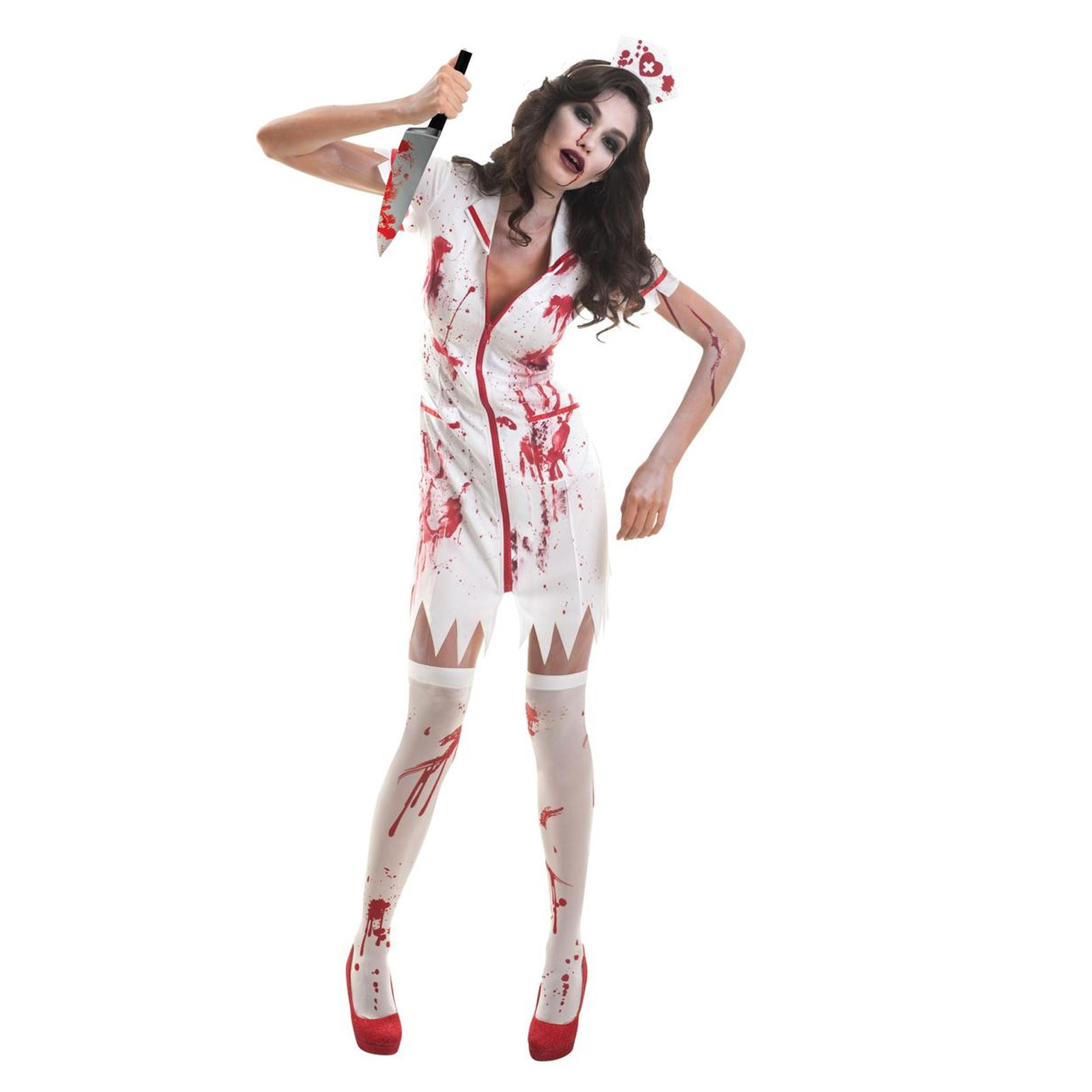 Adulto Sanguinoso Dottori /& Infermiere Uomo Donna Halloween Costume Vestito da LOTTO