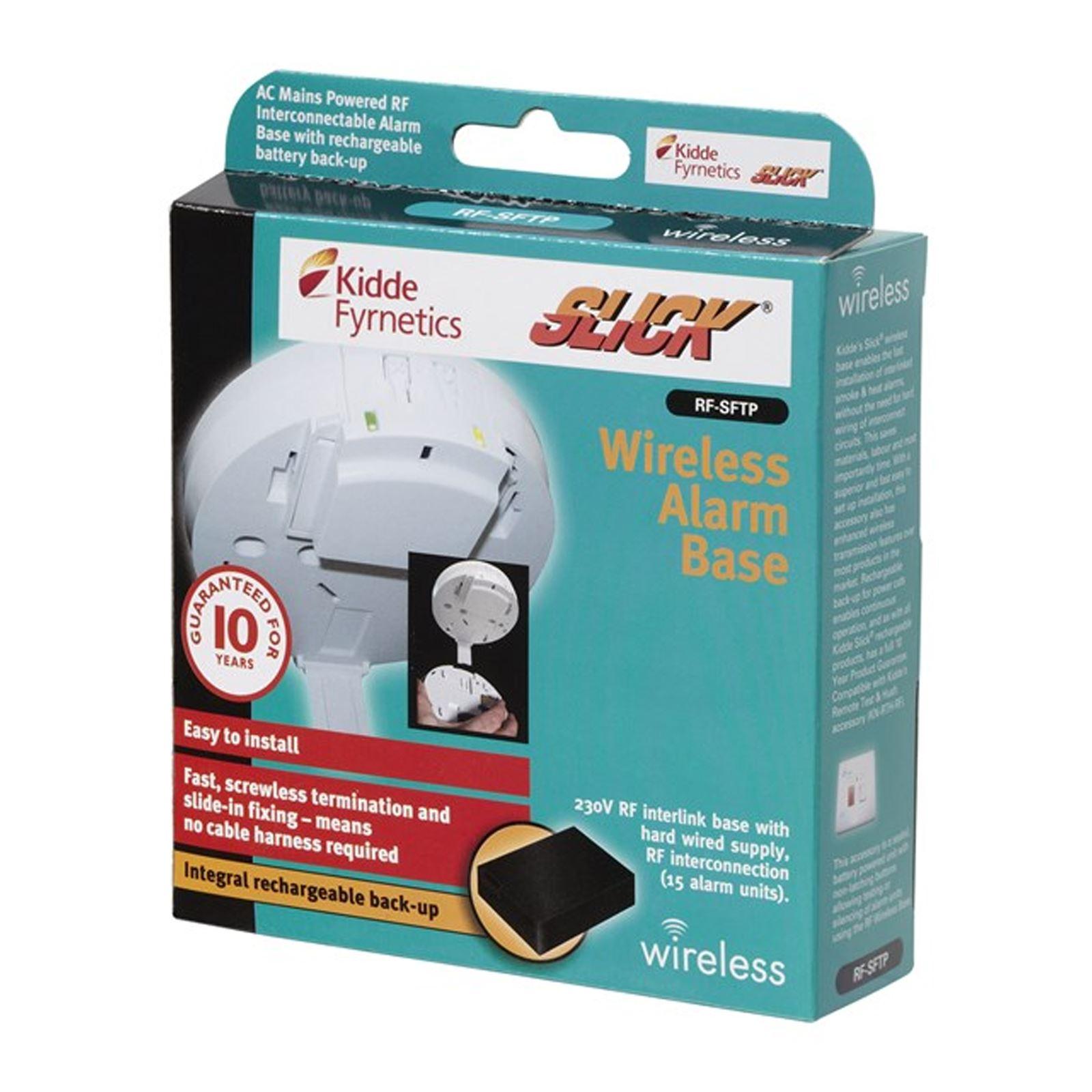 Kidde RF-SFTP Wireless Base for 1SFW 2SFW 3SFW Fire Smoke & Heat ...