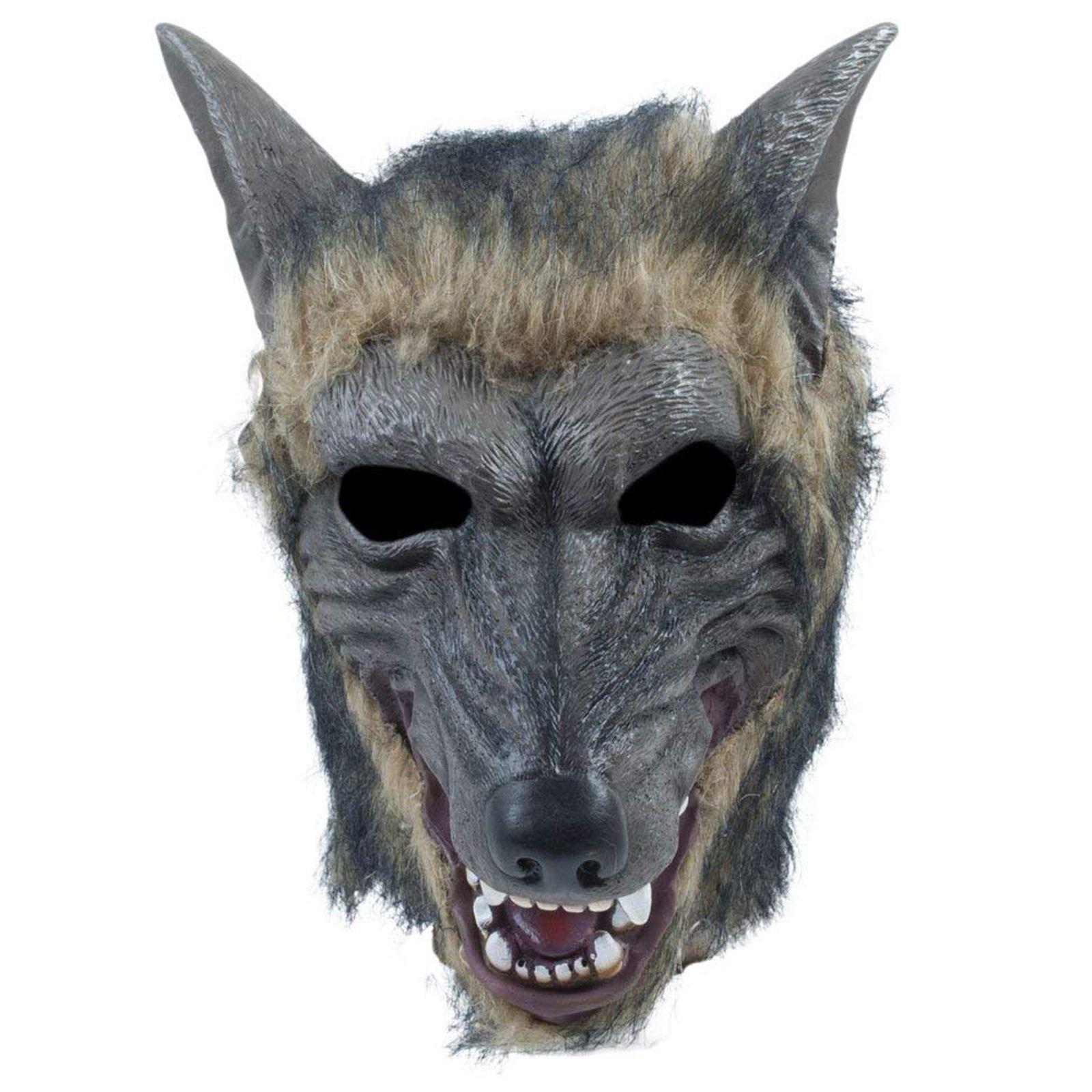 Gris Loup-garou animal de Conte de Fées Halloween Masque