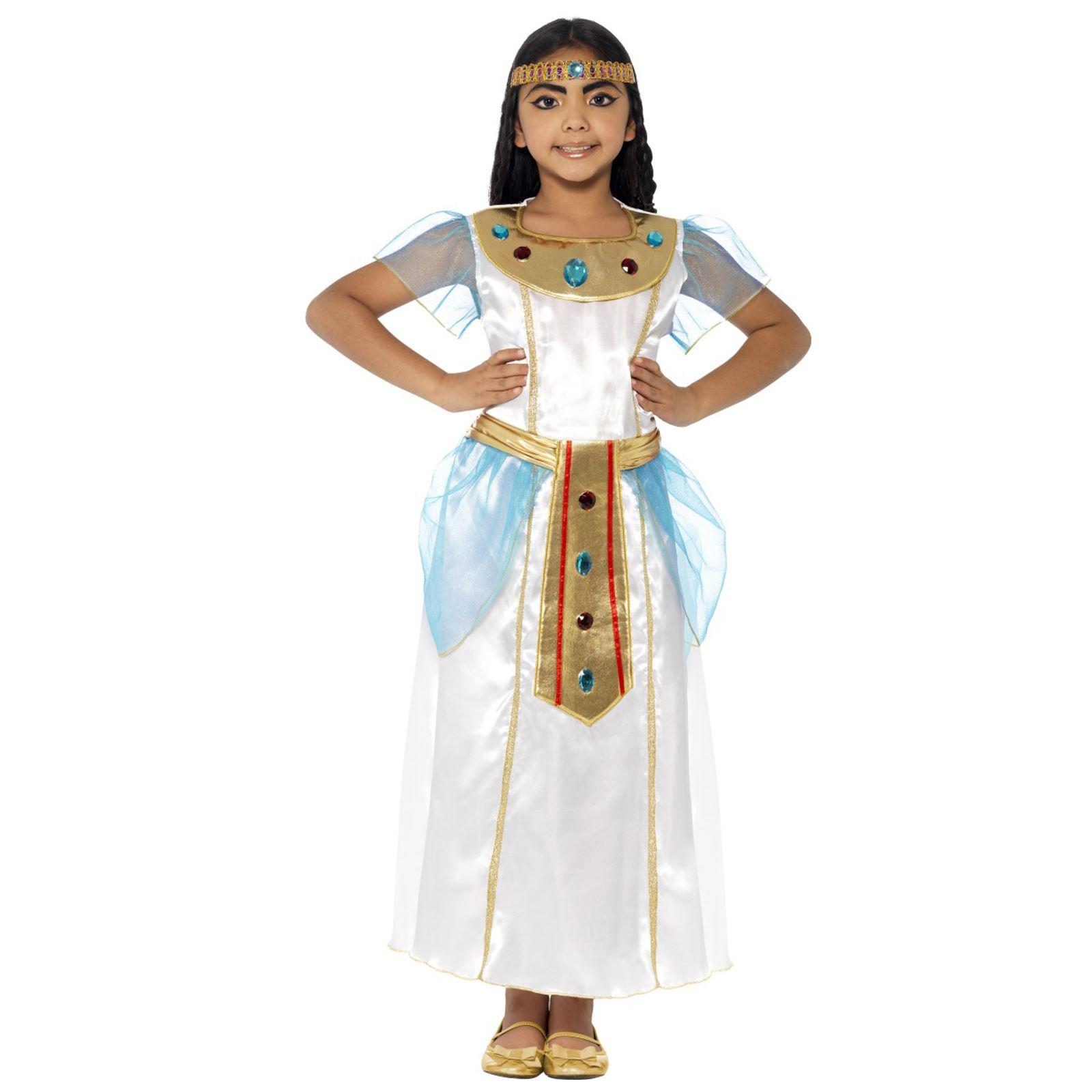 Ancient eqyptian Regina Cleopatra romani Oro Colletto FANCY DRESS ACCESSORIO NUOVO