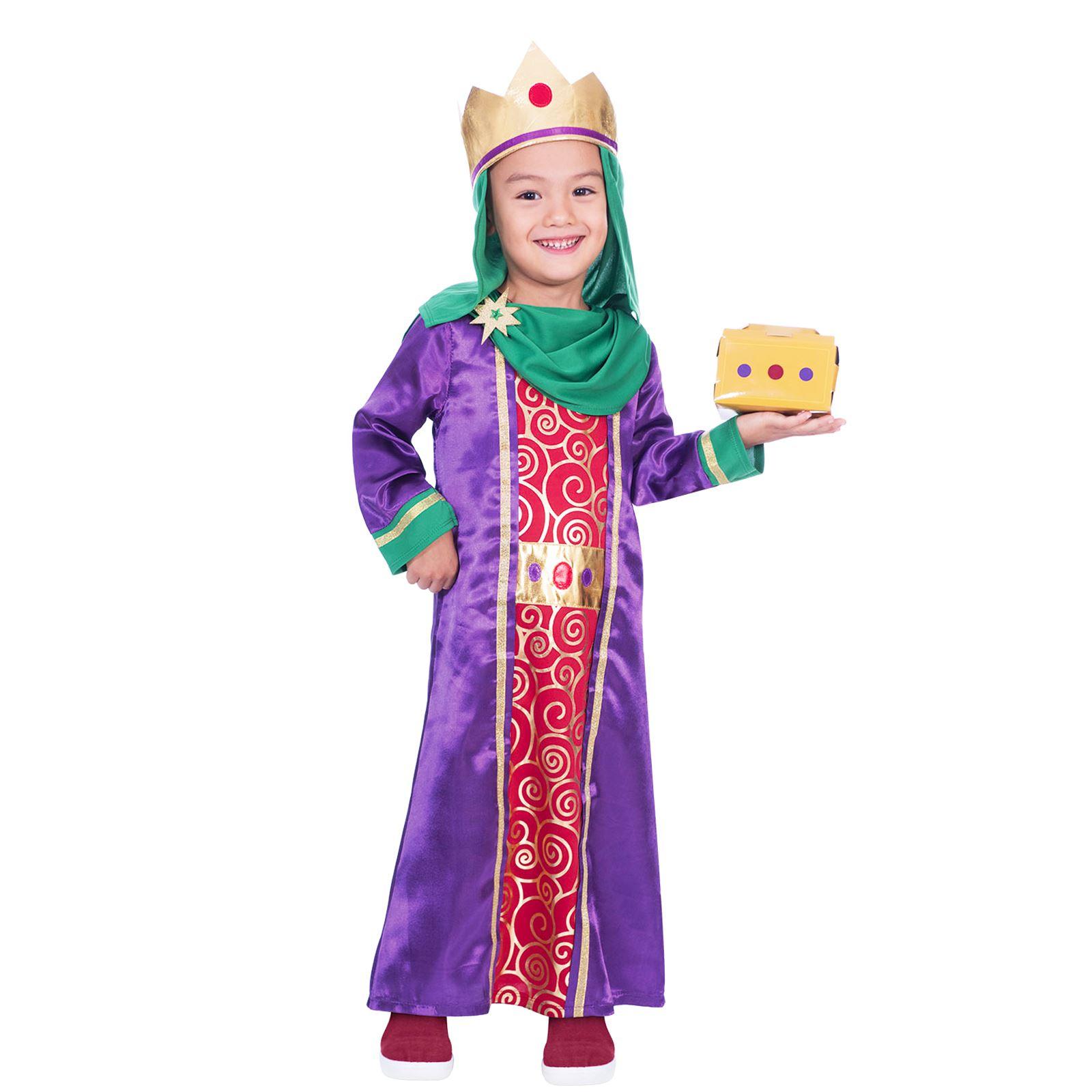 20987cb864a8 Bambini Natività Tre Kings Saggi Costume Natale Recita Scolastica | eBay