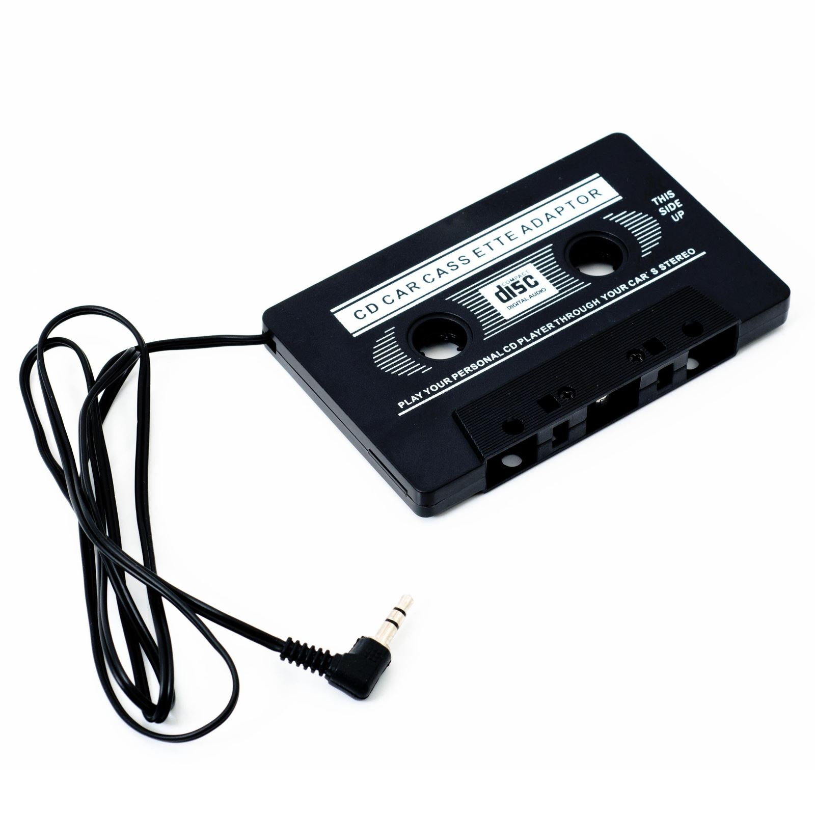 Details about Car in-Dash Tape Audio Cassette MP3 Player Adaptor 3 5mm Aux  Male Cable For iPod