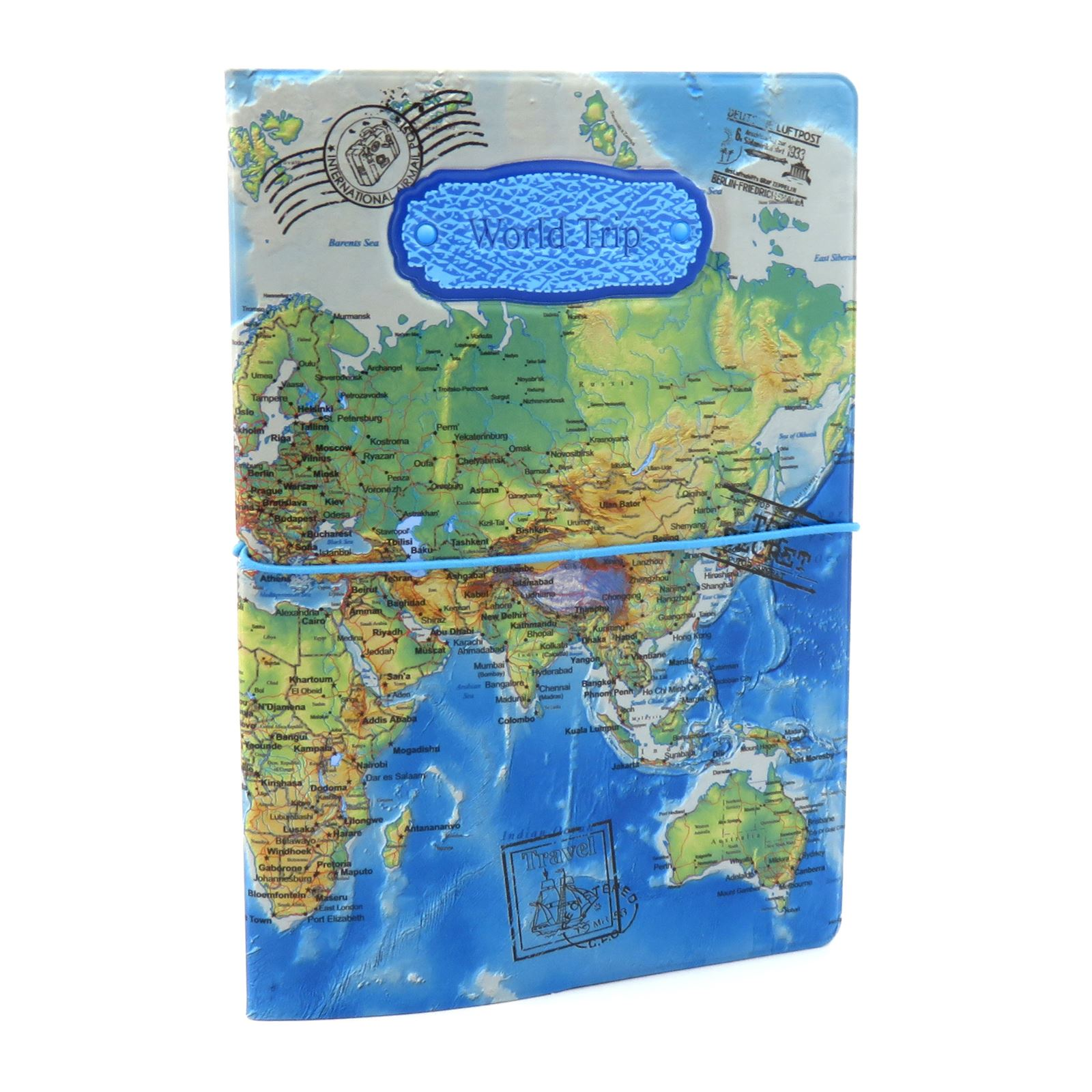 Passport holder wallet case travel world map id ticket receipt porta pasaporte billetera estuche de viaje organizador de gumiabroncs Gallery