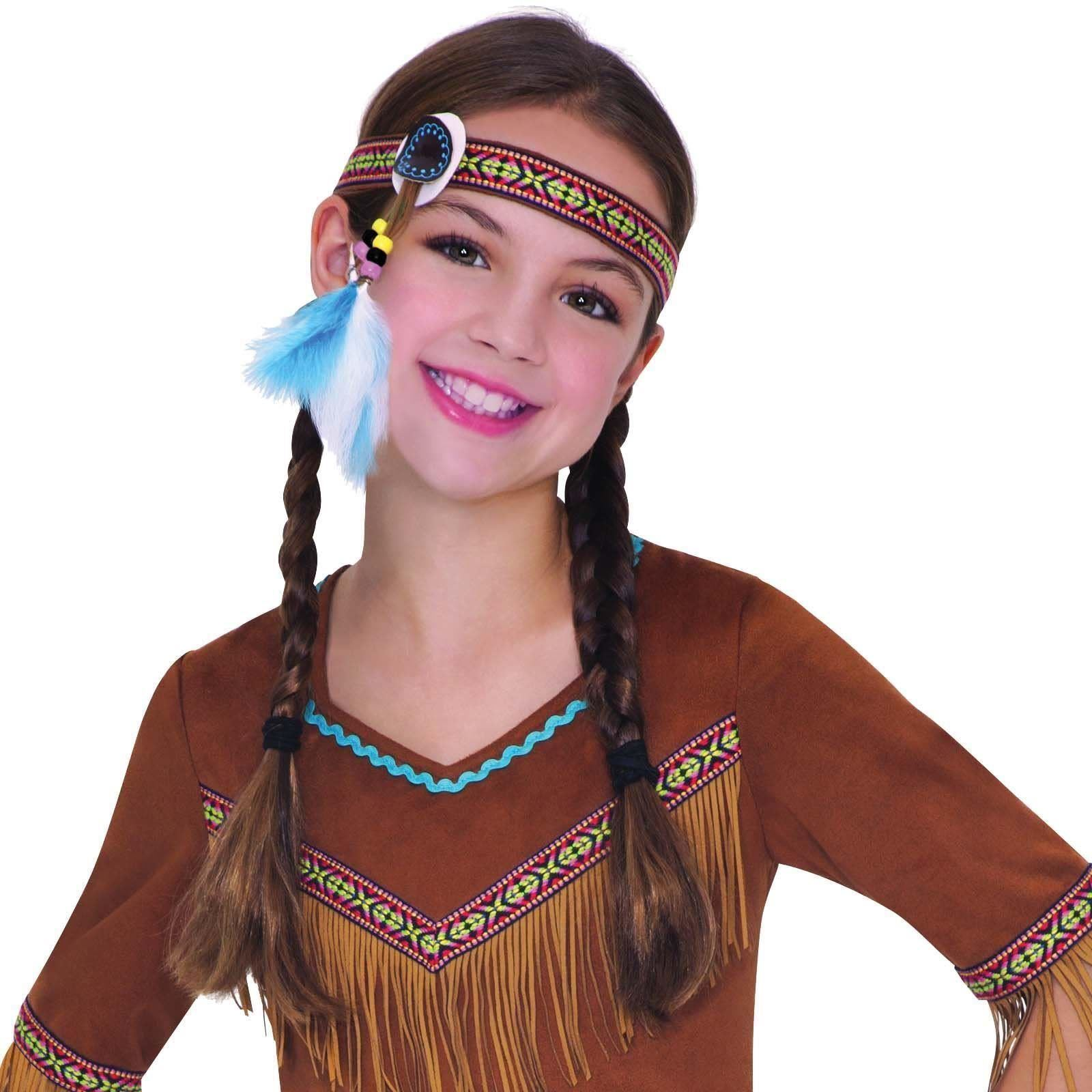 Book Week Pan Tiger Lily Red Indian Native Fancy Dress Costume Girls Childrens | eBay  sc 1 st  eBay & Book Week Pan Tiger Lily Red Indian Native Fancy Dress Costume Girls ...