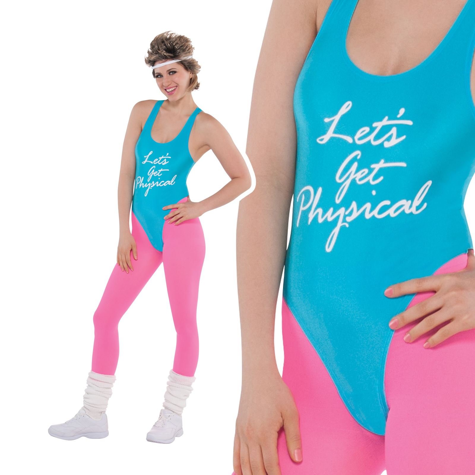 Lets Get Physical Work Out Costume Robe Fantaisie Homme