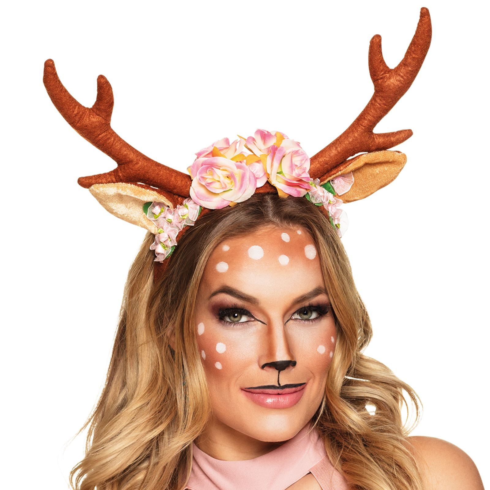 Adult Fawn Fest Reindeer Deer Phone Camera Filter Floral Flower ... 6e41f809f15