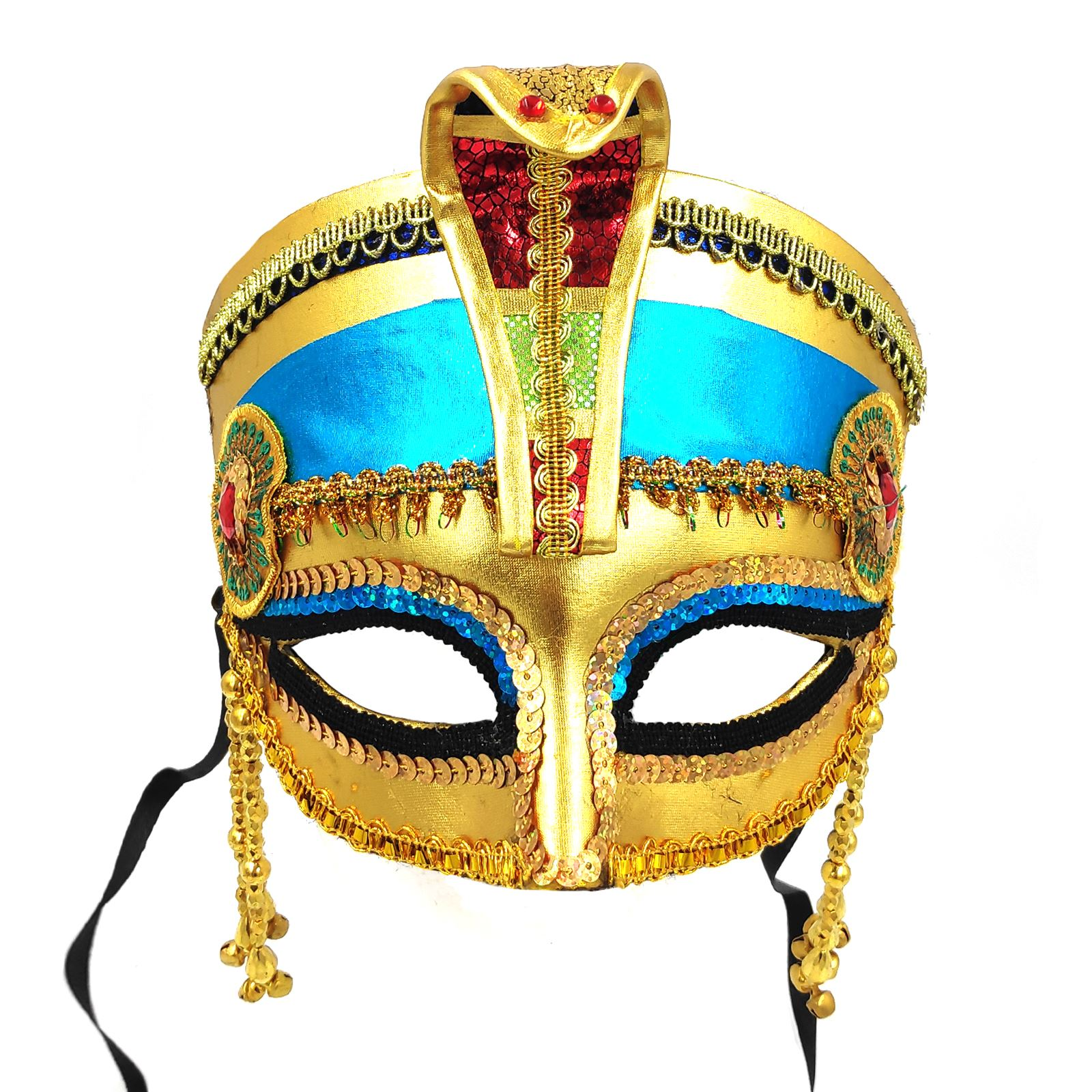 Egyptian Cleopatra Mask Headpiece Crown Pharaoh Ancient