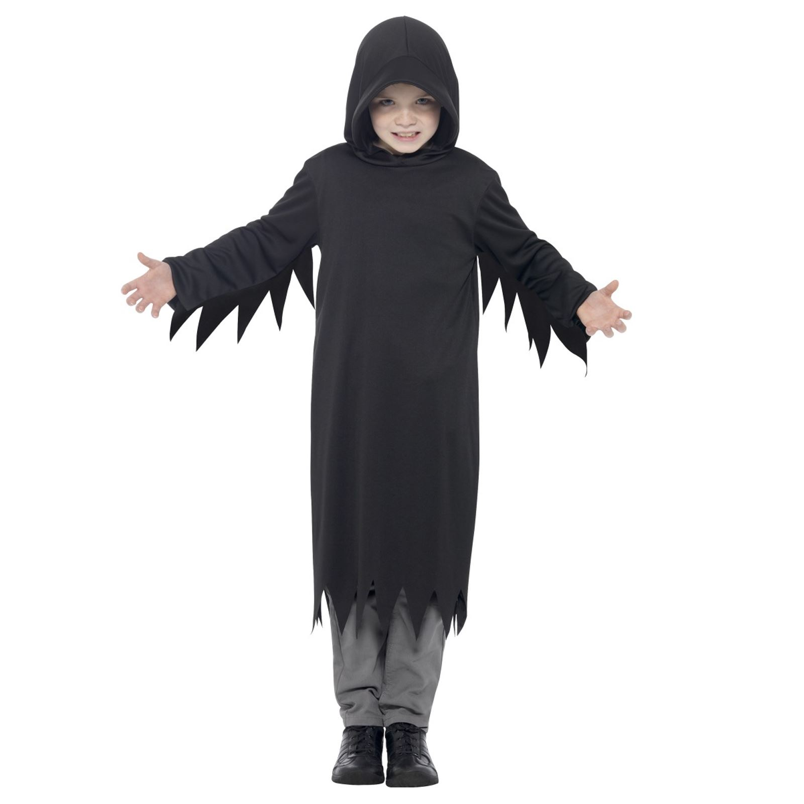 Sombre Guerrier Halloween Faucheuse Costume Faucheuse homme noir mort Taille M//L