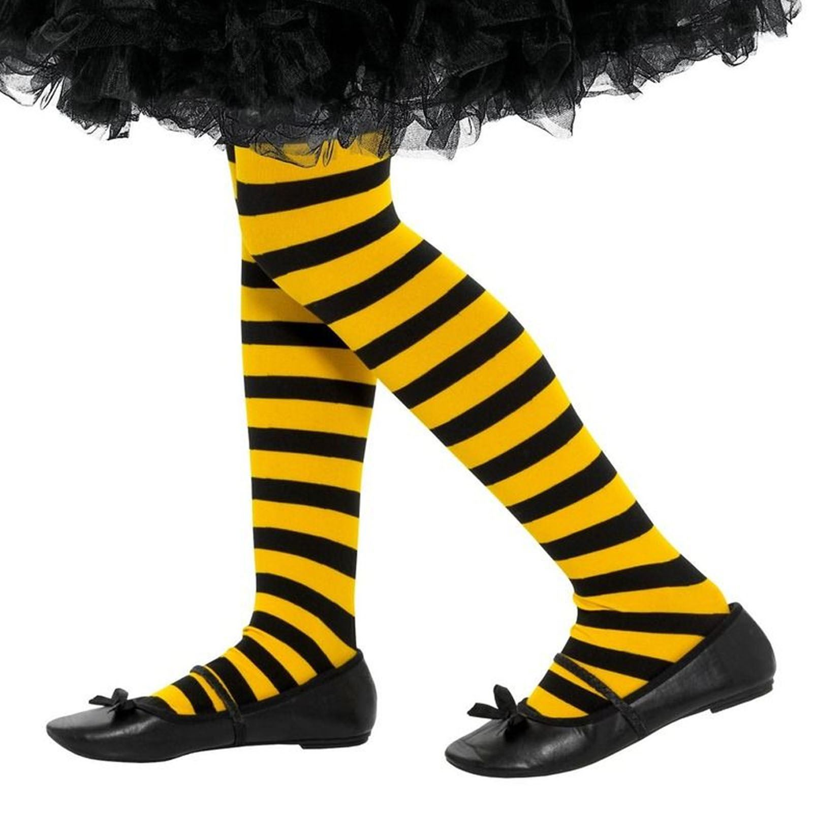 Bumble Bee Over Knee Socks /& Wings Fancy Dress Manchester Bee
