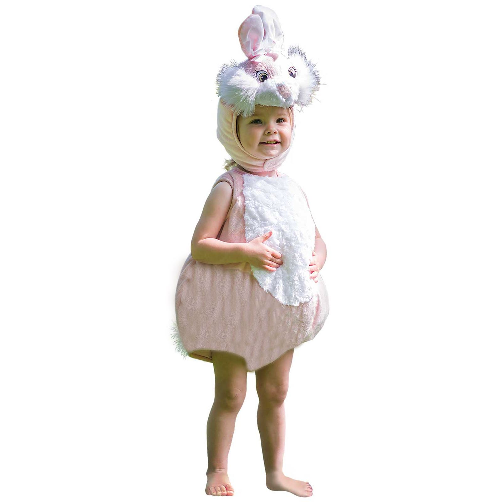 Cute lilac linen dress  Baby girl pink dress  Girls/' suit with bunny ears  Birthday gift for toddler