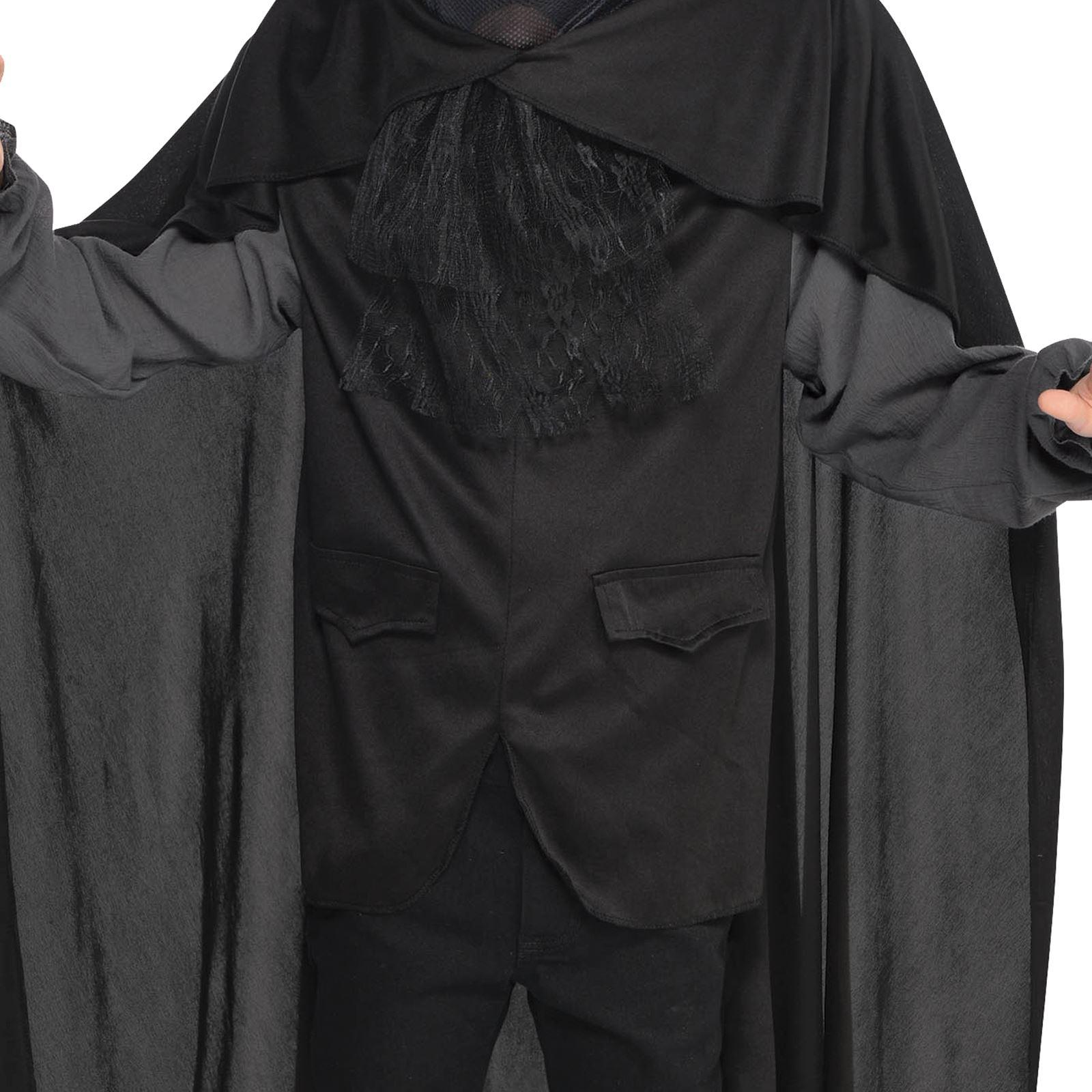 Headless Horseman Man Medieval Ghost Sleepy Horror Halloween Mens Costume