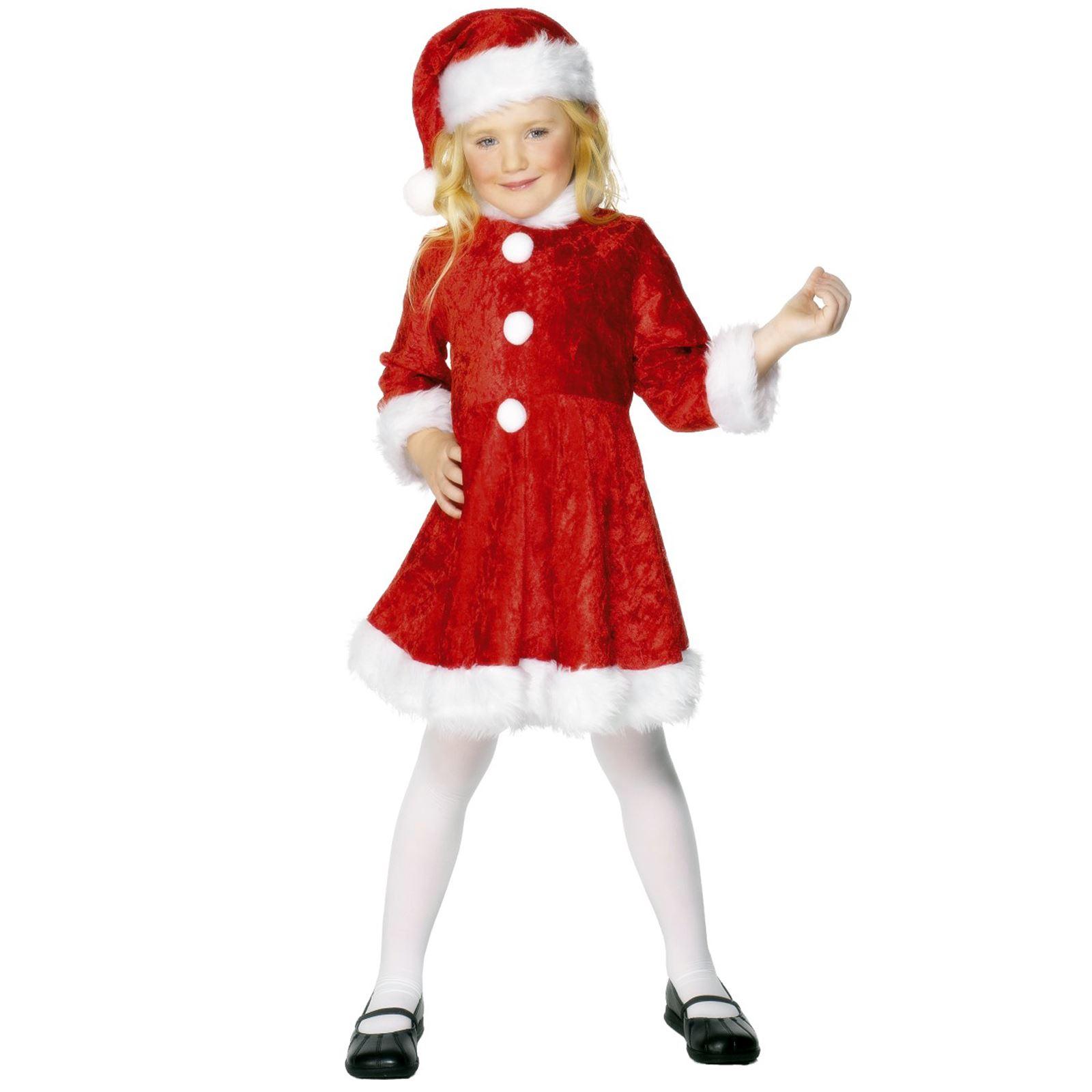 Smiffy/'S Babbo Natale bambino tutto in Una Tuta Con Cappuccio Bambini Natale Fancy Dress Costume