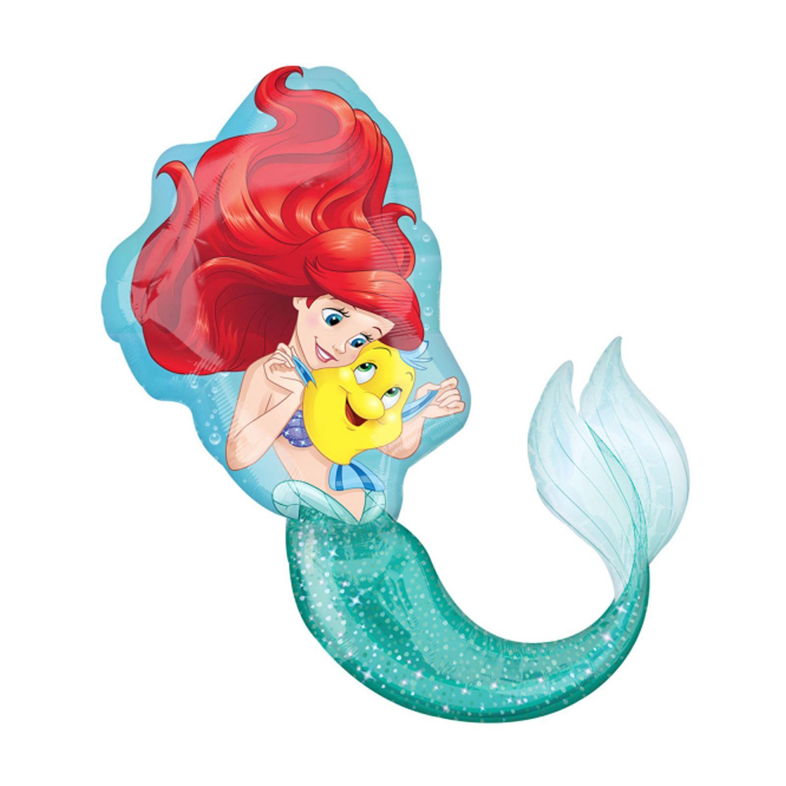 Officiel-disney-princesse-plat-ballon-geant-cadeau-filles-fete-d-039-anniversaire-decoration miniature 3