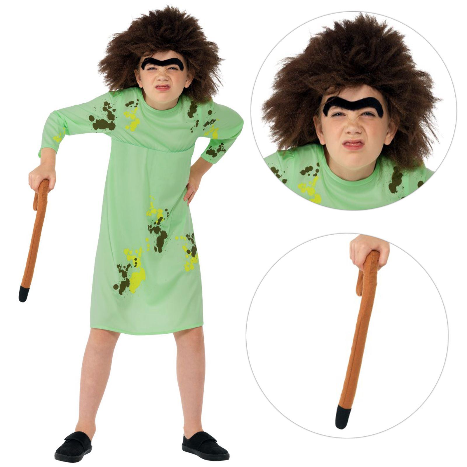 Boys Roald Dahl Mr Twit World Book Day Week Fancy Dress Costume Outfit 7-12yrs