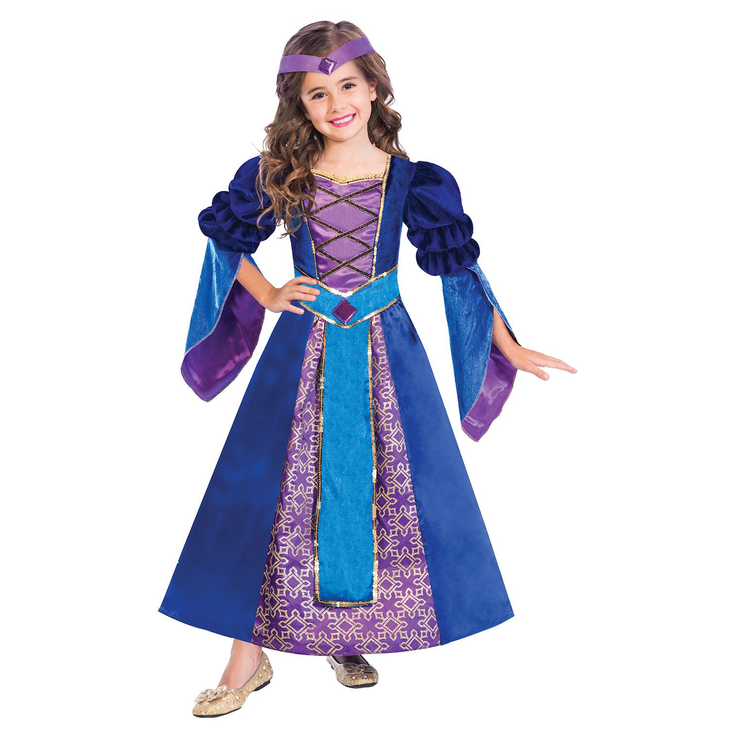 Medieval Knight Princess Fancy Dress Party Book Week Costume