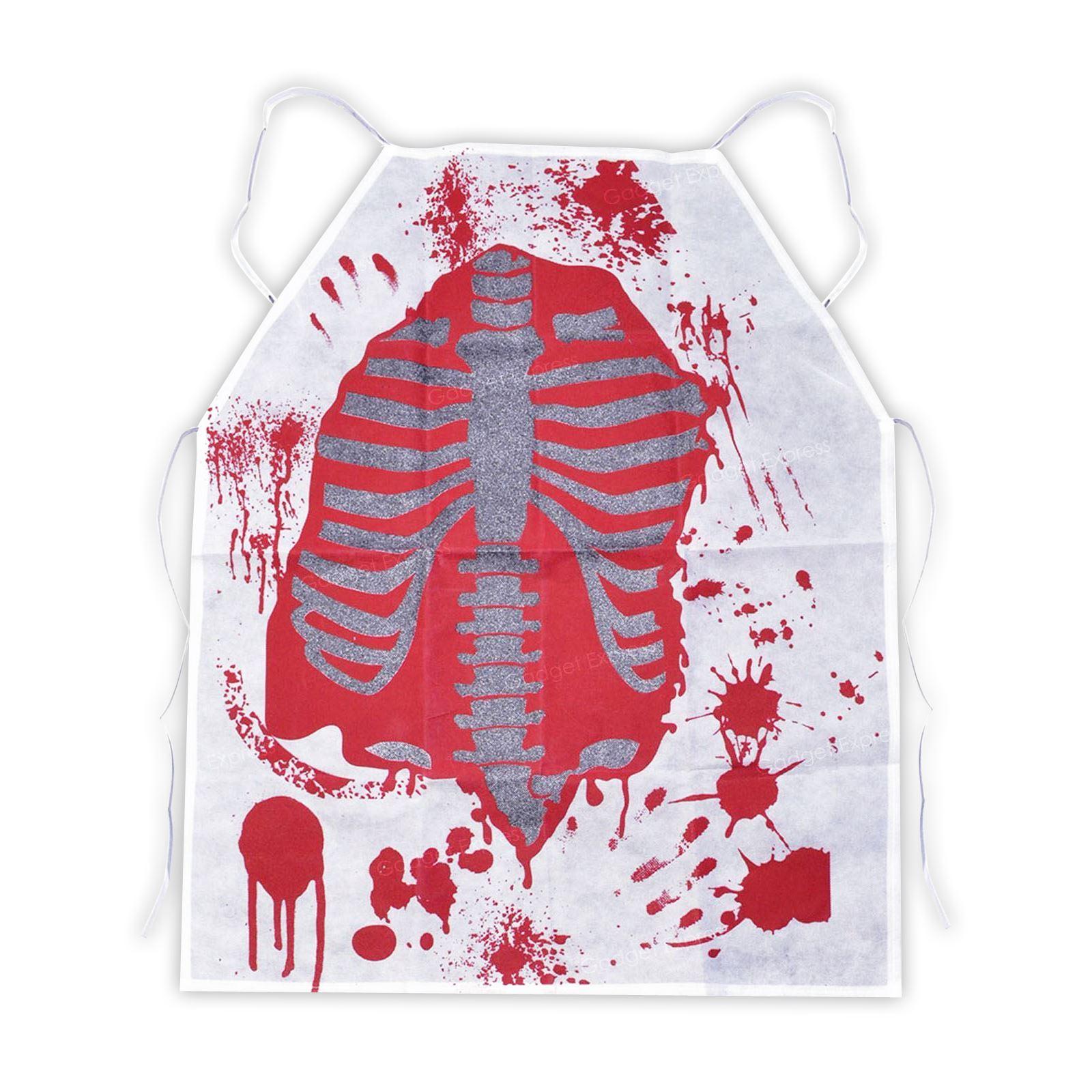 adult zombie chef bloody apron butcher halloween kitchen fancy